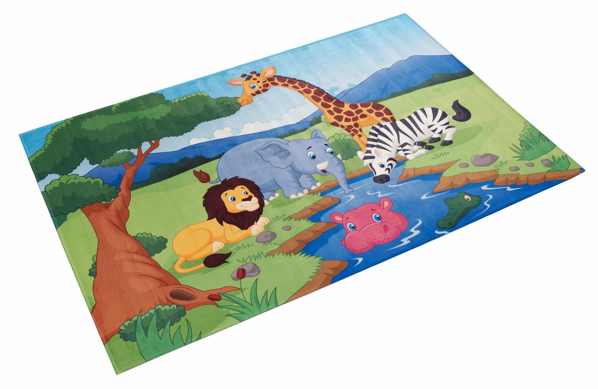 BÖING CARPET Kinderteppich, »Lovely Kids 403«, Böing Carpet, rechteckig, Höhe 6 mm, gedruckt