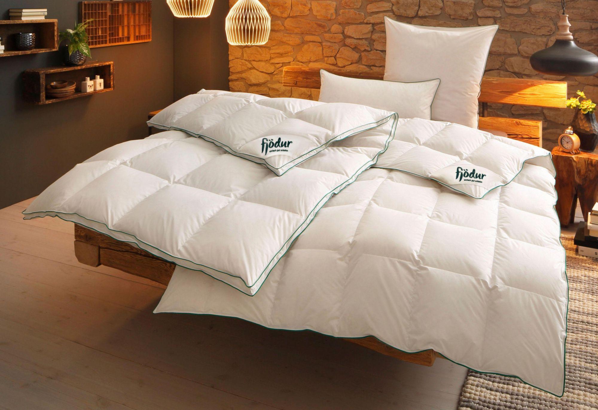 FJÖDUR Bettdeckenset, »Fee«, Fjödur, Extrawarm, 80% Daunen, 20% Federn