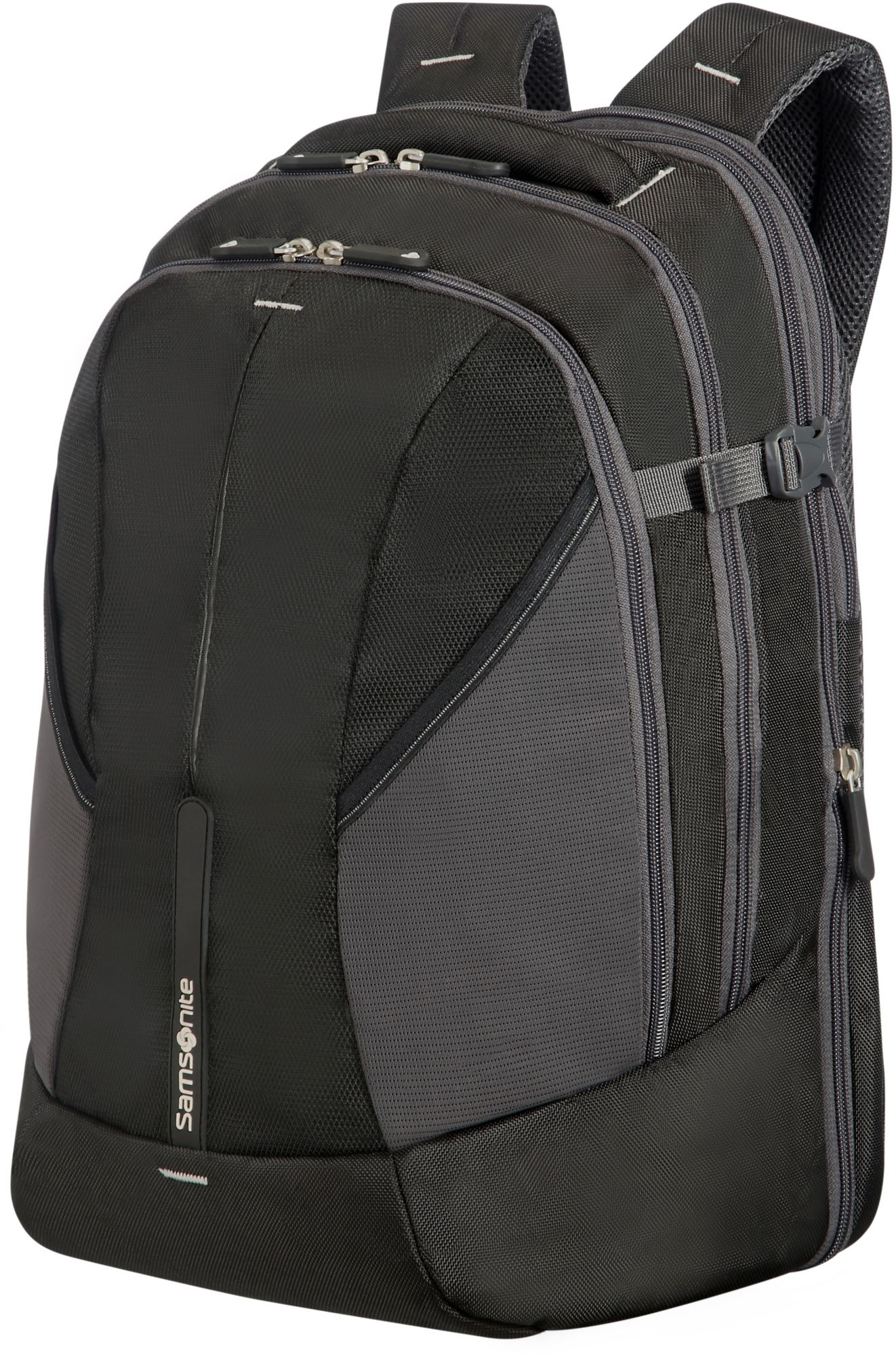 SAMSONITE 4Mation Rucksack 45,5 cm Laptopfach Samsonite black-silver