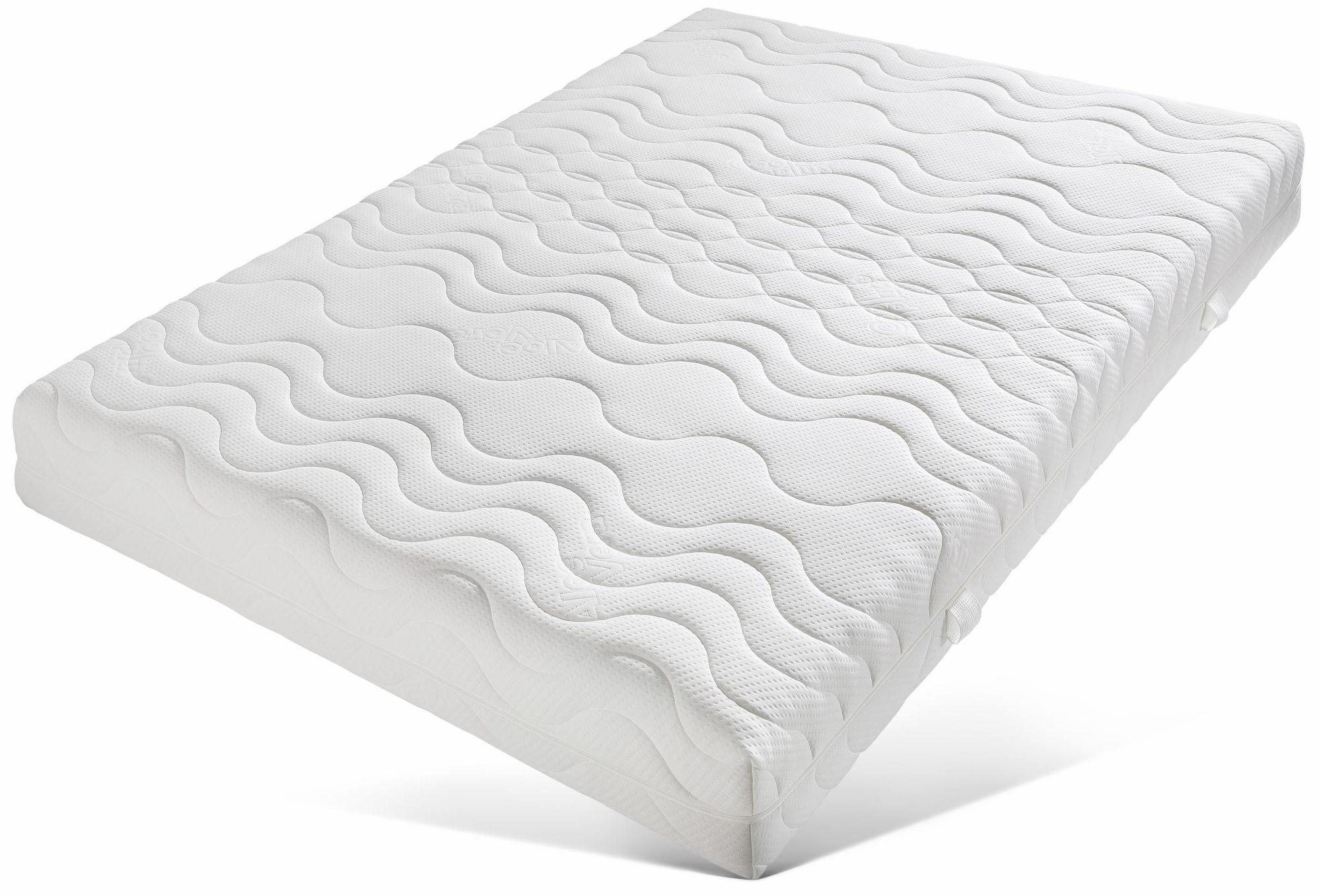 BECO Komfortschaummatratze, »Premium Cool Plus«, BeCo, 25 cm hoch, Raumgewicht: 28, 4 Härtegrade zu Wahl