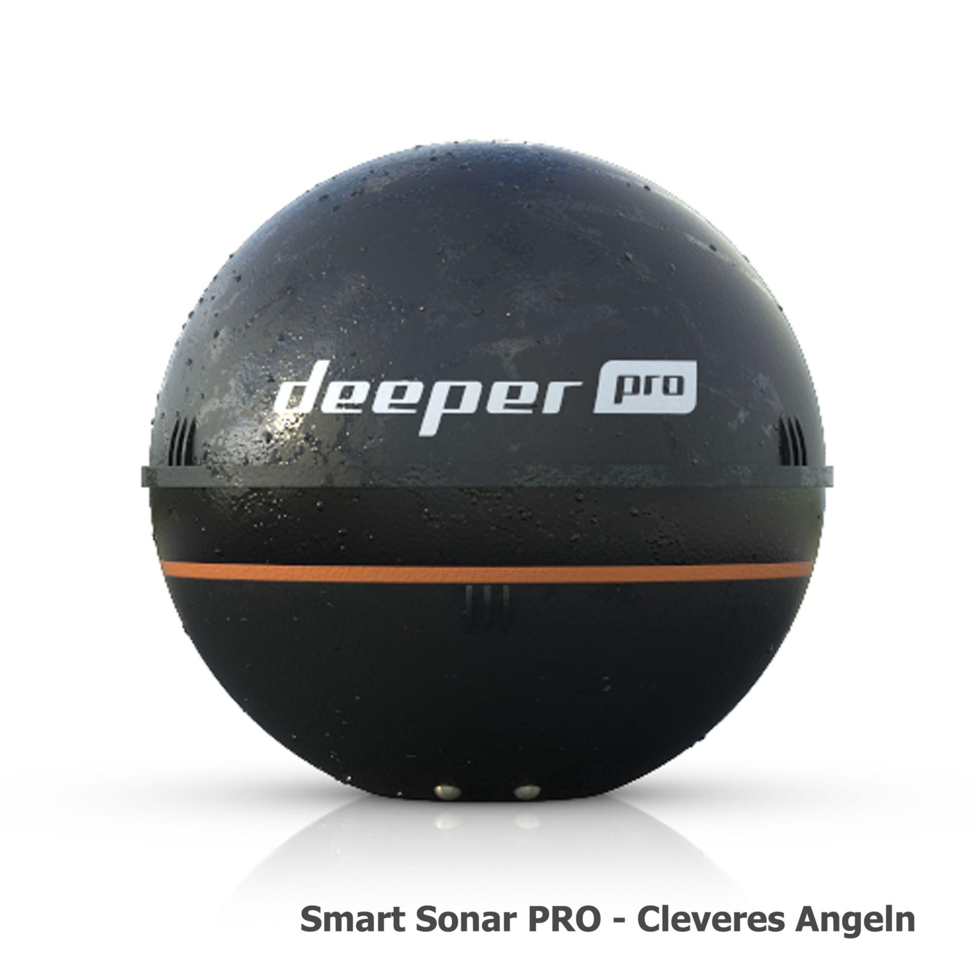 DEEPER deeper Kabelloses, auswerfbares Sonar / Echolot / Fischfinder »Smart Sonar Pro DP1H20S10«