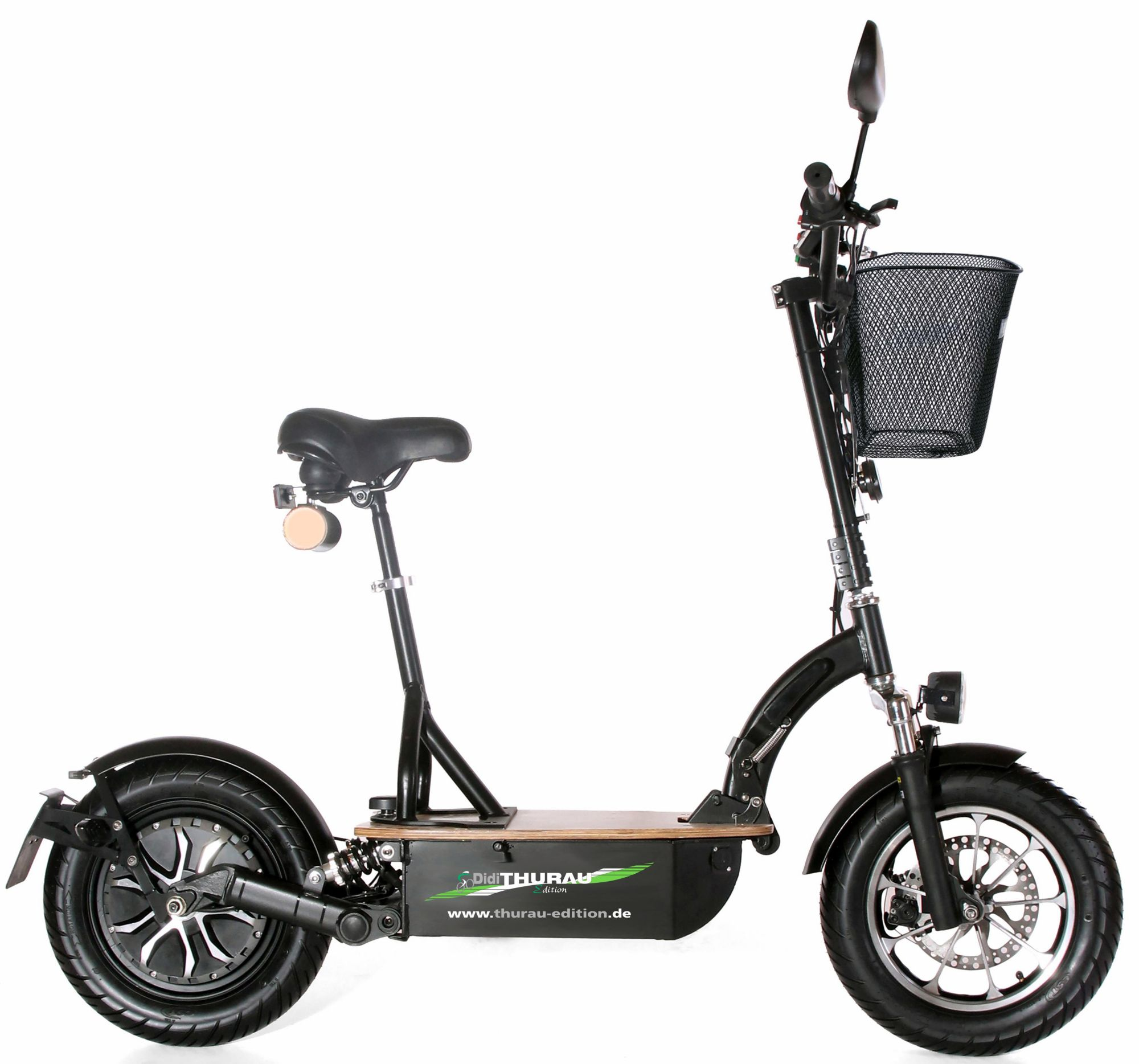 DIDI THURAU EDITION Didi Thurau Edition Elektro-Roller Eco-Tourer, 20 km/h, »Basic«