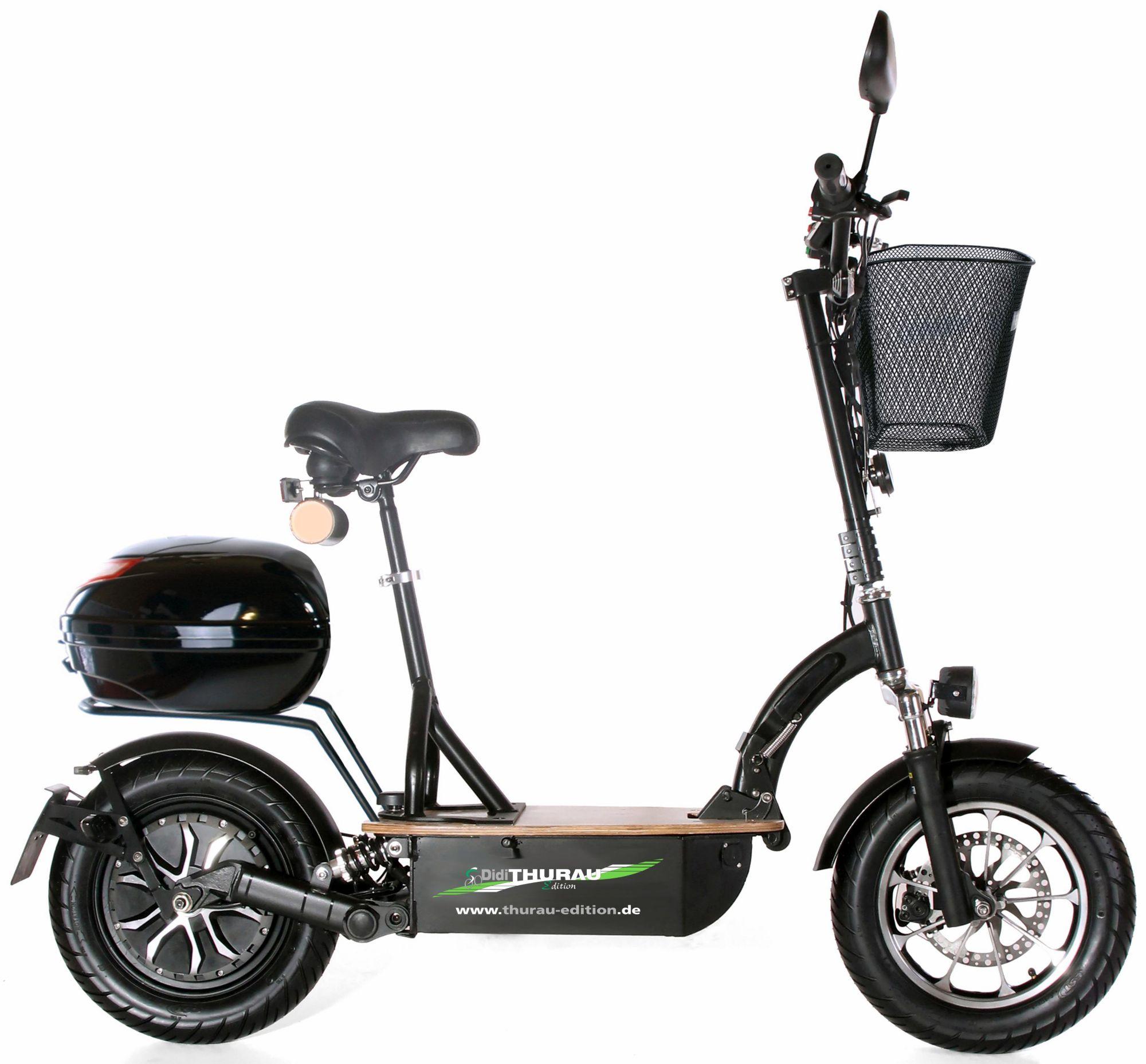 DIDI THURAU EDITION Didi Thurau Edition Elektro-Roller Eco-Tourer, 20 km/h, »Safety«