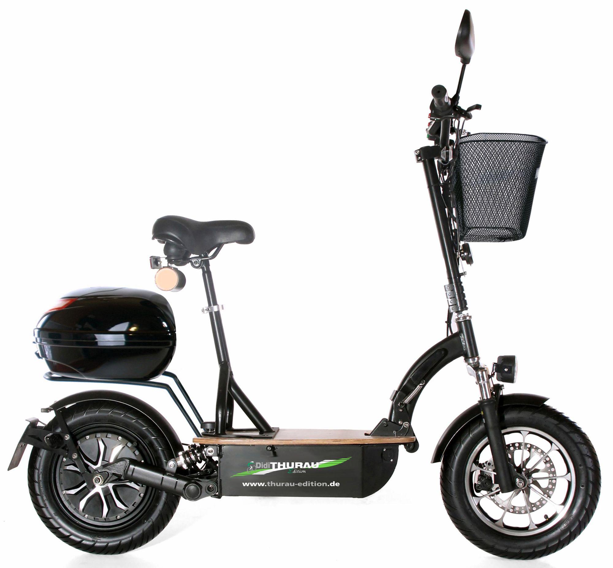 DIDI THURAU EDITION Didi Thurau Edition Elektro-Roller Eco-Tourer, 20 km/h, »Safety Plus«