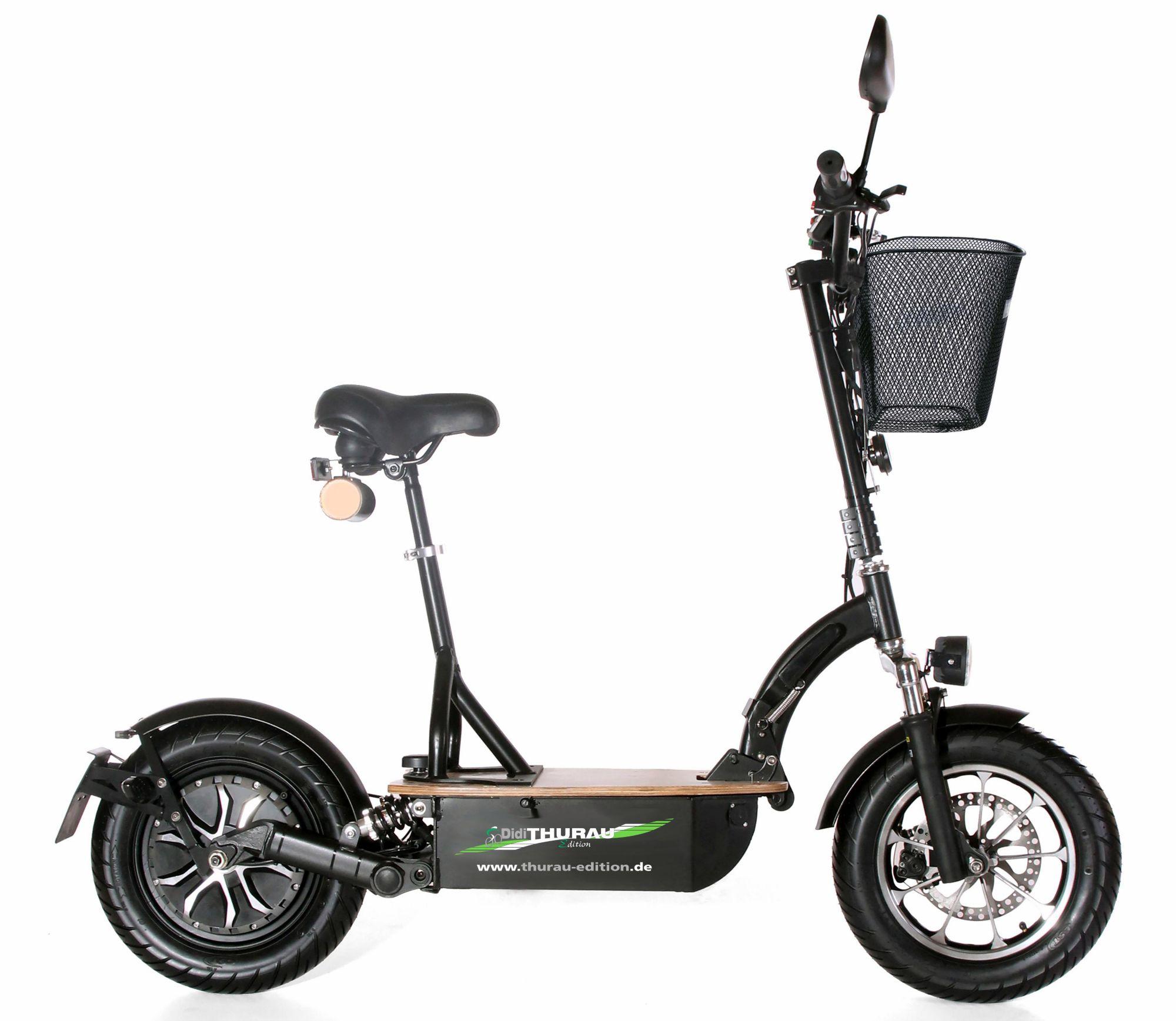 DIDI THURAU EDITION Didi Thurau Edition Elektro-Roller Eco-Tourer Speed, 45 km/h, »Basic«