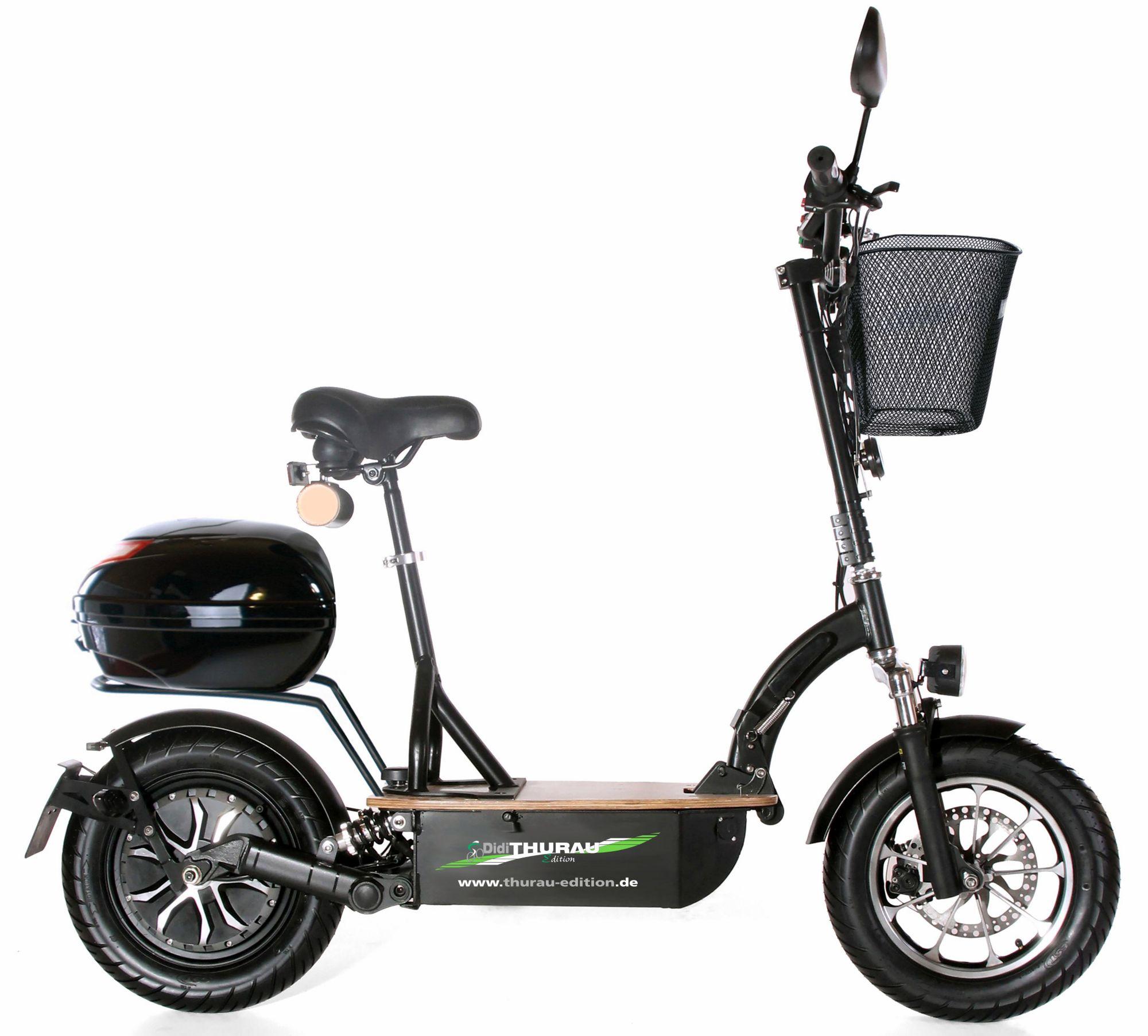 DIDI THURAU EDITION Didi Thurau Edition Elektro-Roller Eco-Tourer Speed, 45 km/h, »Safety«