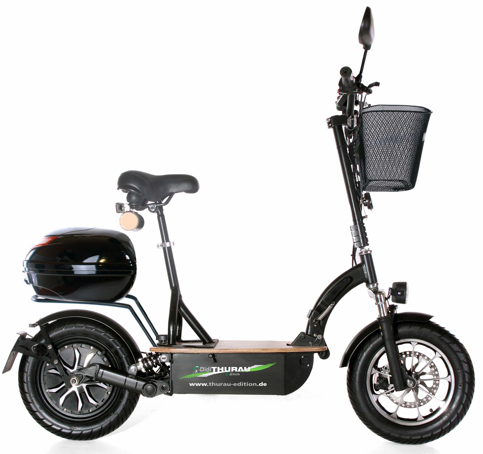 DIDI THURAU EDITION Didi Thurau Edition Elektro-Roller Eco-Tourer Speed, 45 km/h, »Safety Plus«