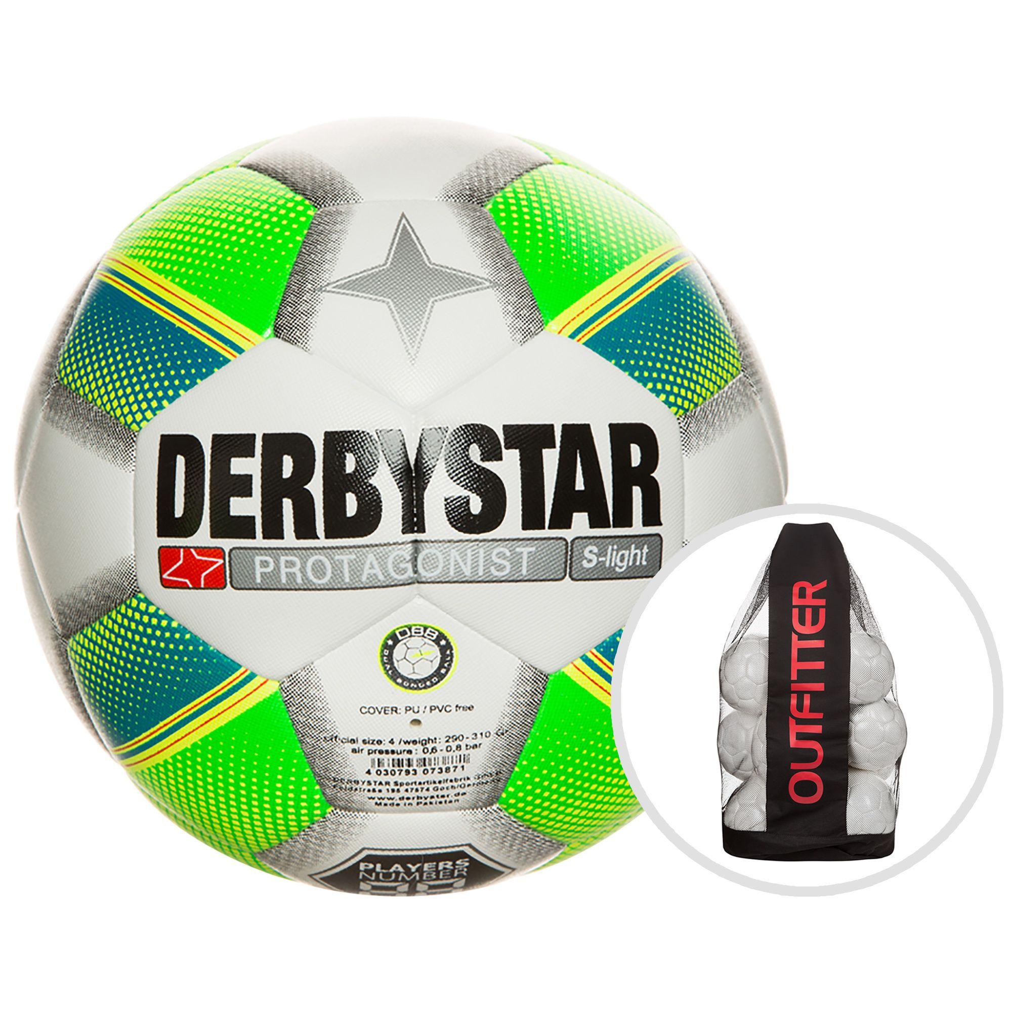 DERBYSTAR Derbystar Fußball »Protagonist S-light 10er Ballpaket«