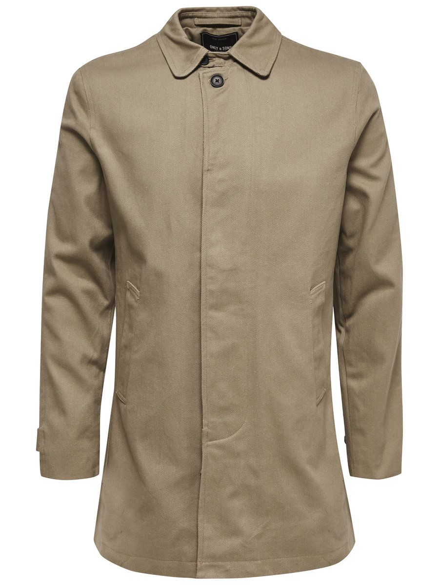ONLY SONS ONLY & SONS Klassischer Trenchcoat