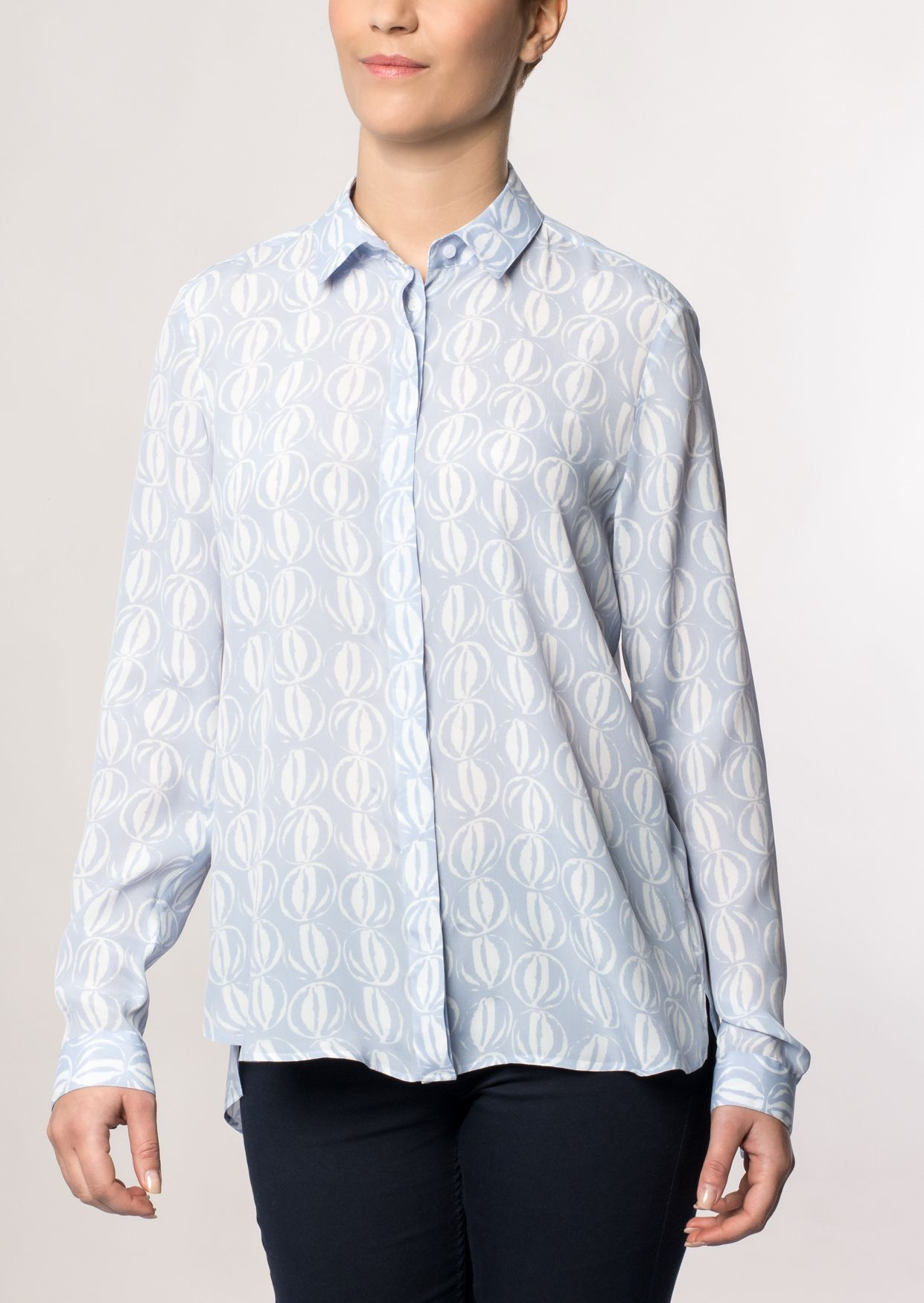 ETERNA  1/1-Arm Bluse »MODERN FIT bedruckt«