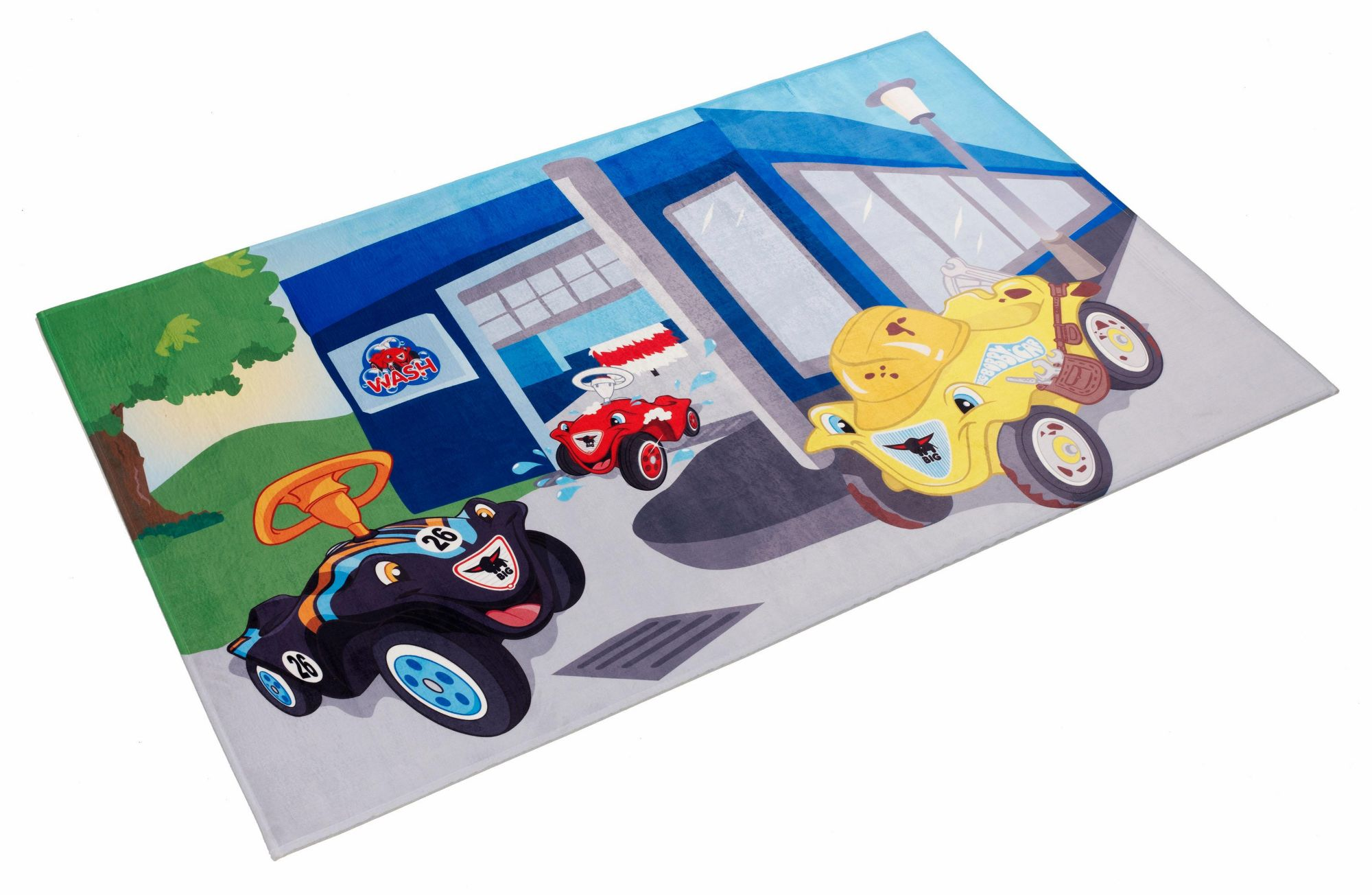 BOBBY CAR Kinderteppich, »Bobby Car 104«, Bobby Car, rechteckig, Höhe 6 mm, gedruckt