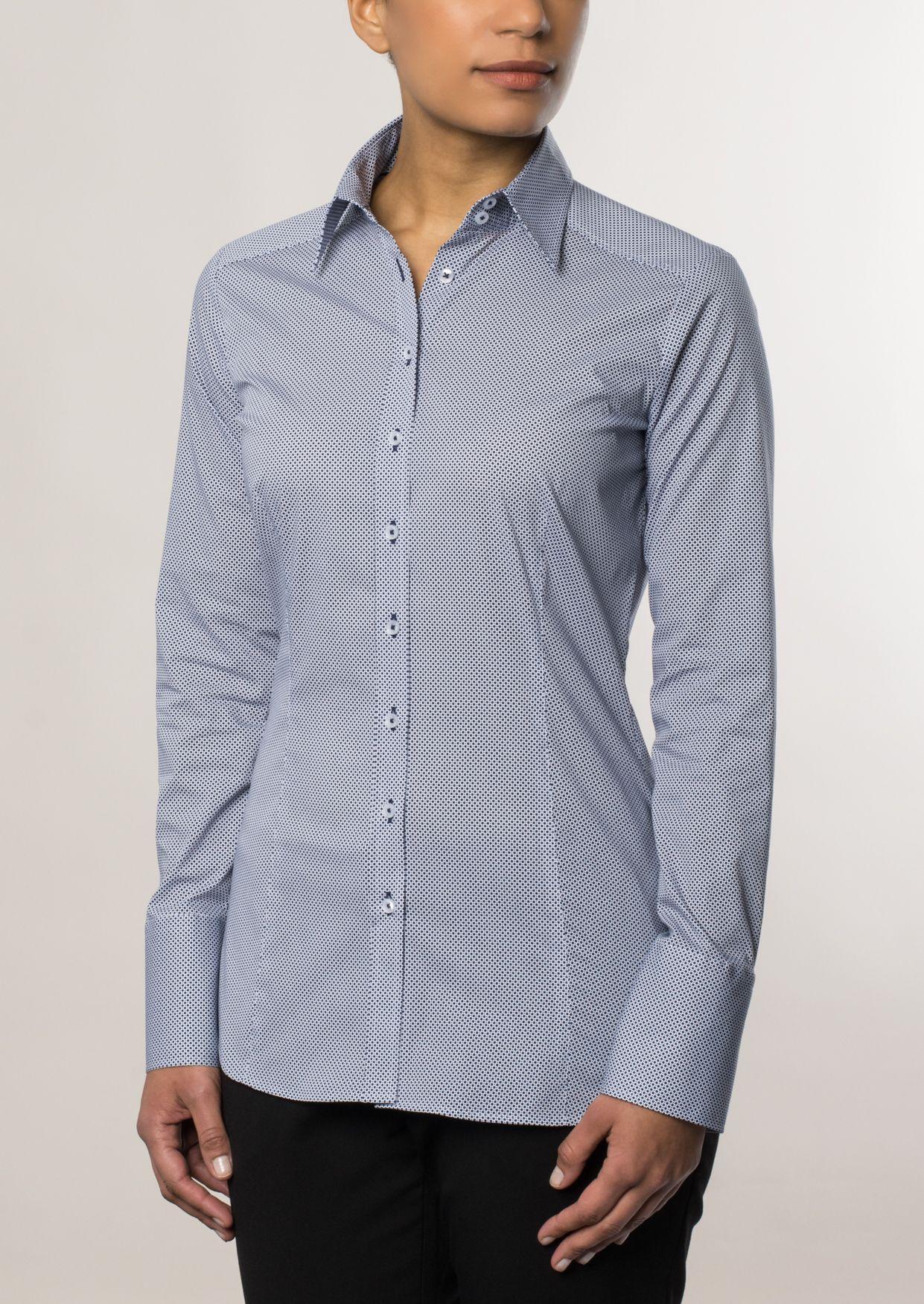ETERNA  1/1-Arm Bluse »SLIM FIT bedruckt«