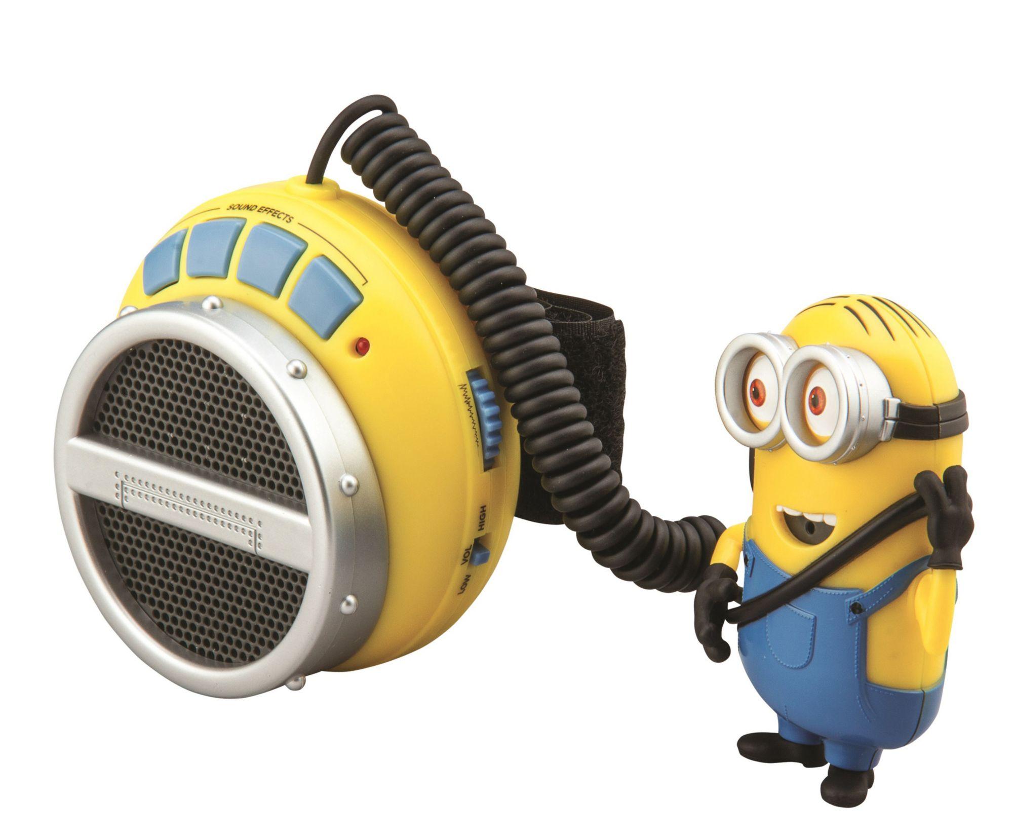 EKIDS eKids Minion Mania - Stimmenveränderer mit MP3-Anschluss »Despicable me MS-119D3«