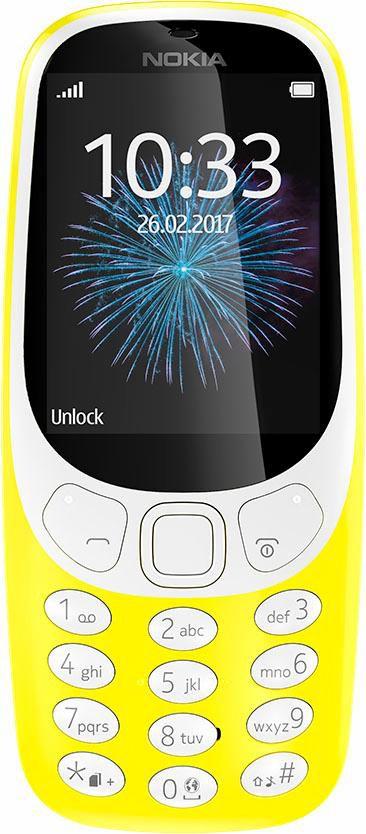 NOKIA .Nokia 3310 (2017) Dual-SIM gelb