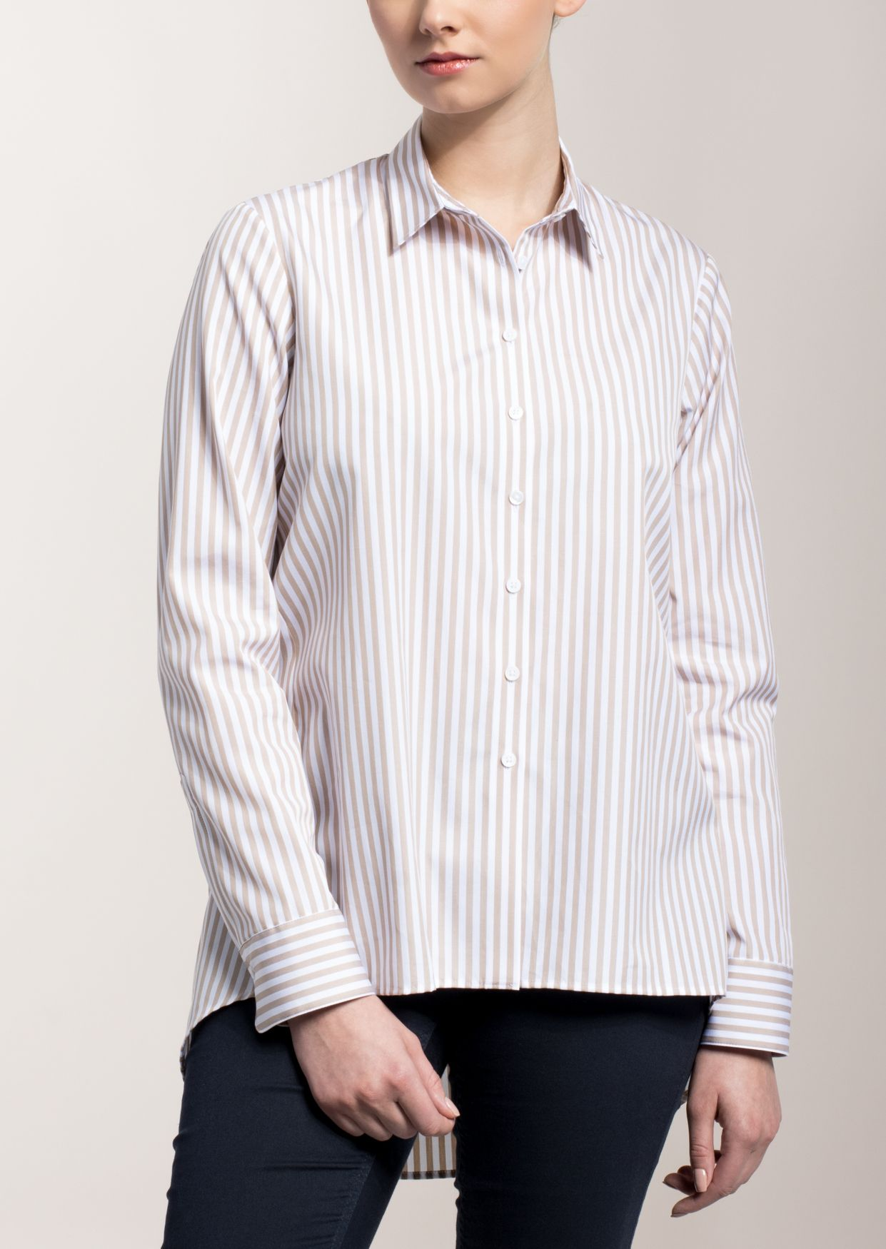 ETERNA  1/1-Arm Bluse »MODERN FIT gestreift«