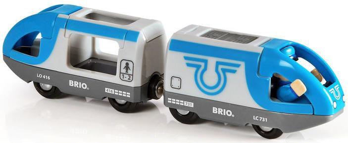 BRIO Blauer Reisezug, Bahn