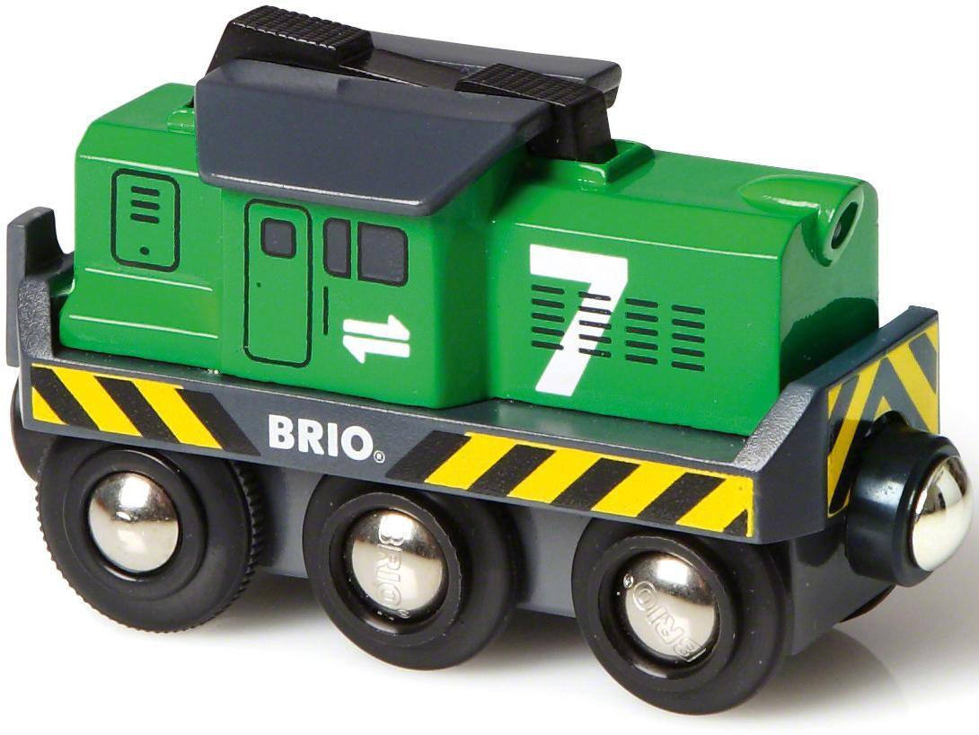 BRIO Batterie-Frachtlok, Bahn