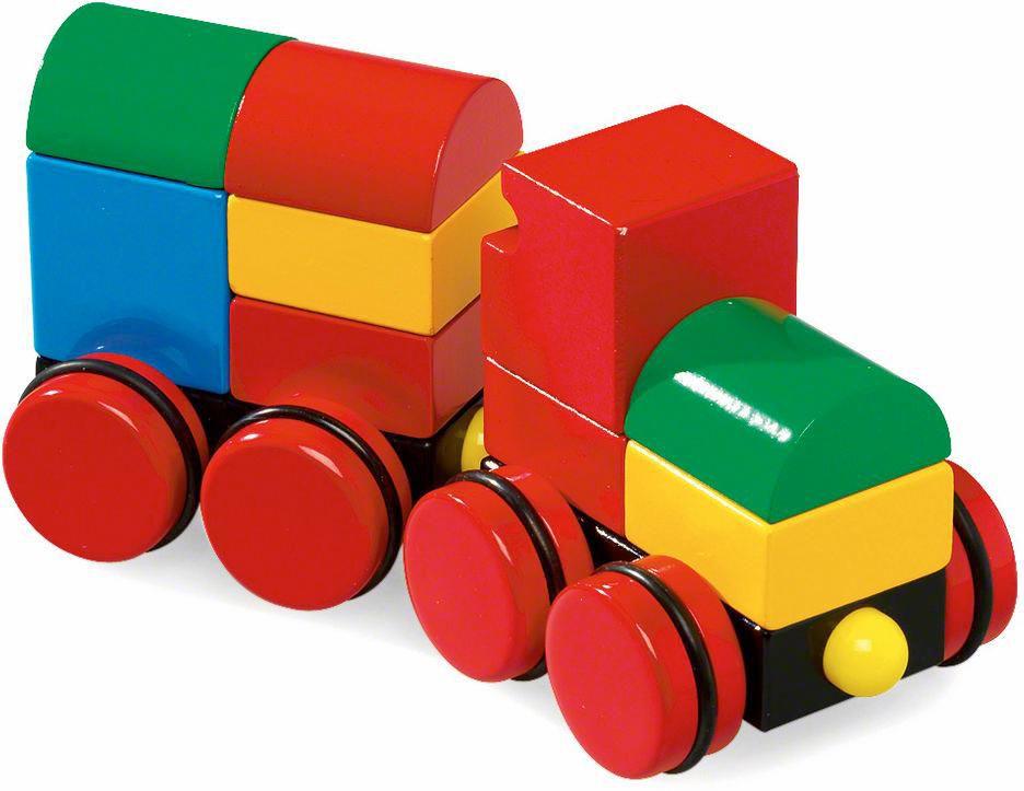 BRIO Brio Eisenbahn, »Magnetischer Holzzug«