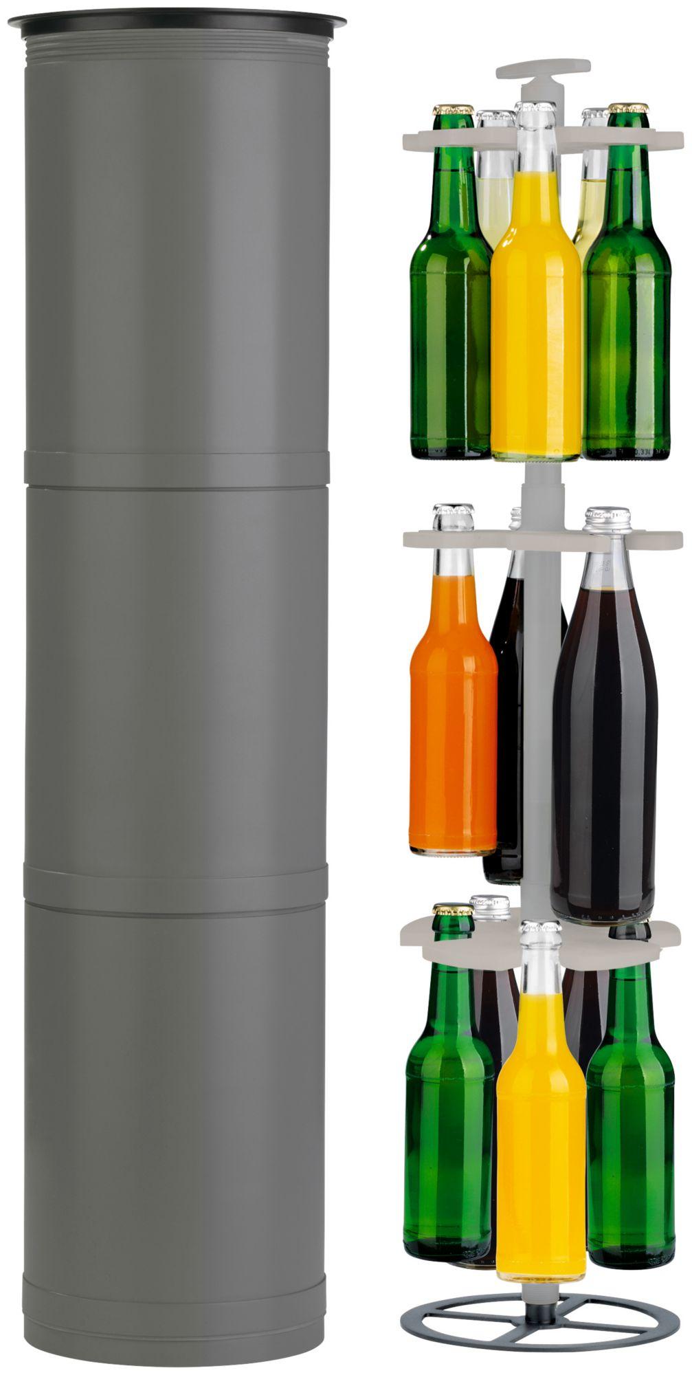 EASYMAXX  Flaschenkühler »Outdoor Flaschenhalter«, (H/Ø): ca. 90 x 20 cm