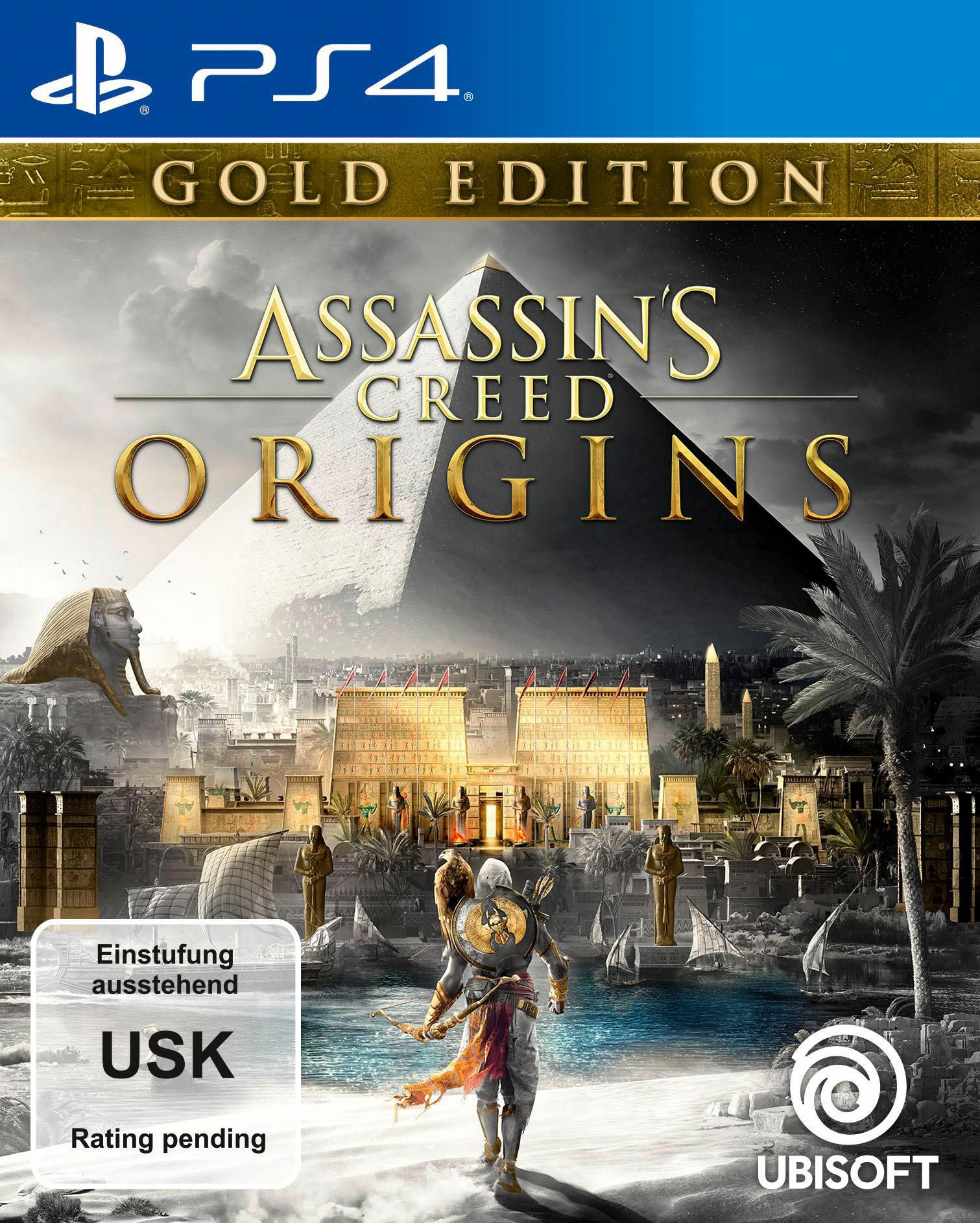 UBISOFT Assassin's Creed Origins Gold Edition (PS4)