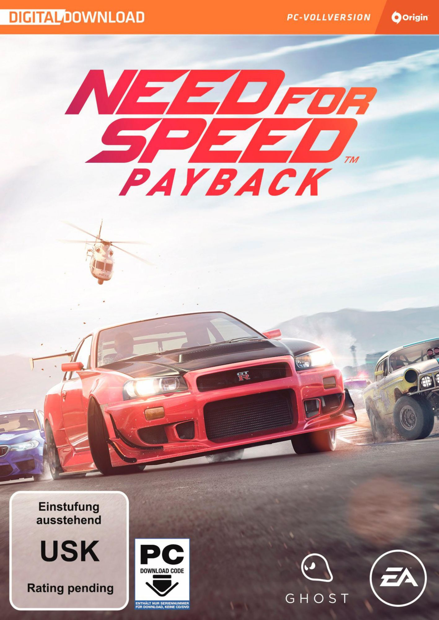 ELECTRONIC ARTS Need for Speed Payback, PC-Spiel
