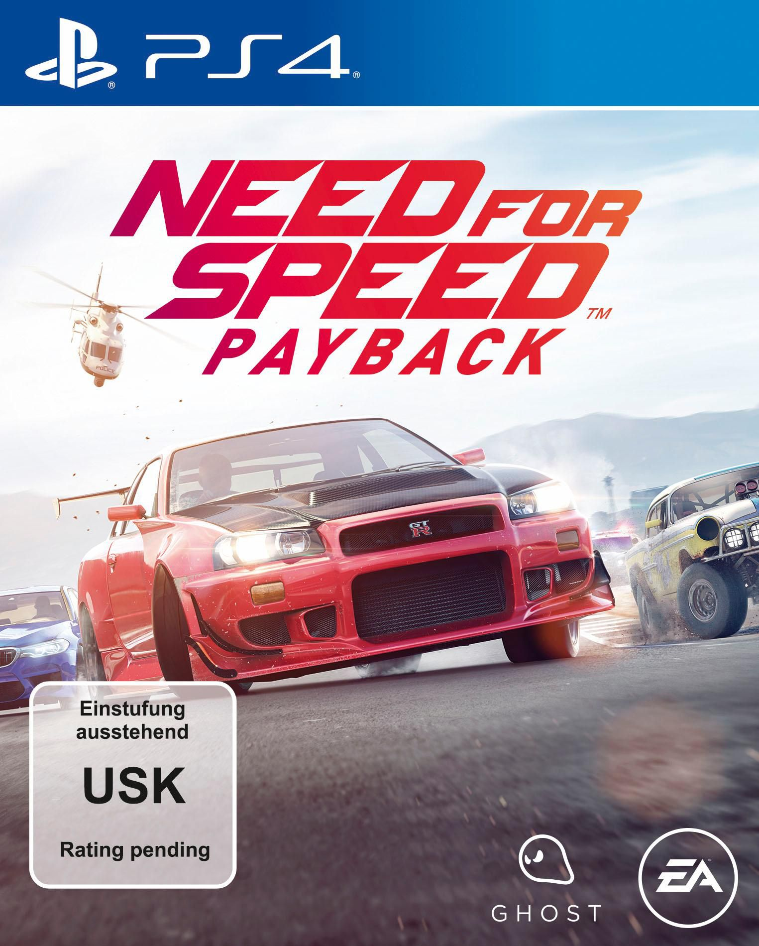 ELECTRONIC ARTS Need for Speed Payback, PlayStation 4-Spiel