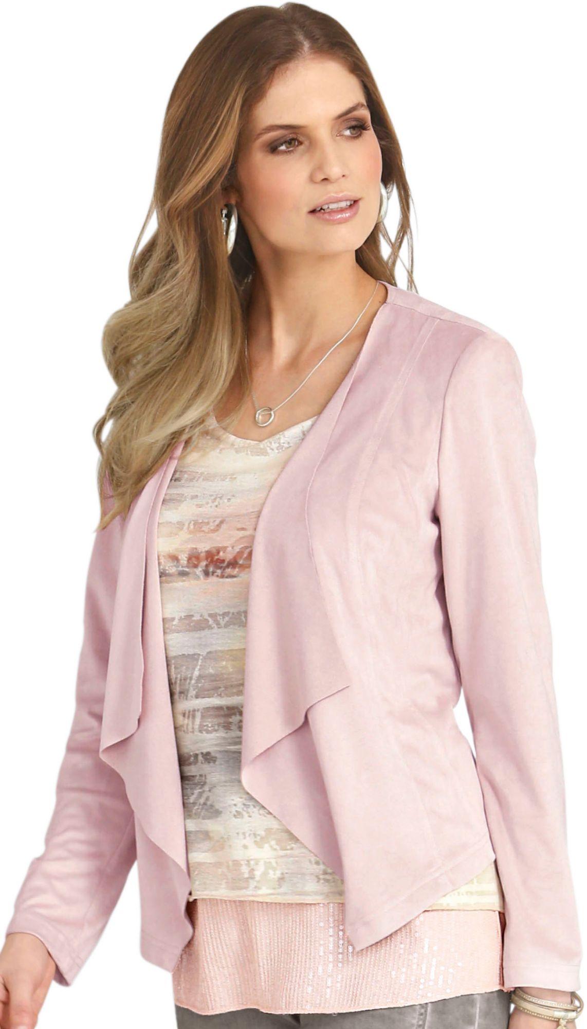 ALESSA W Alessa W. Blazer in Zipfelform