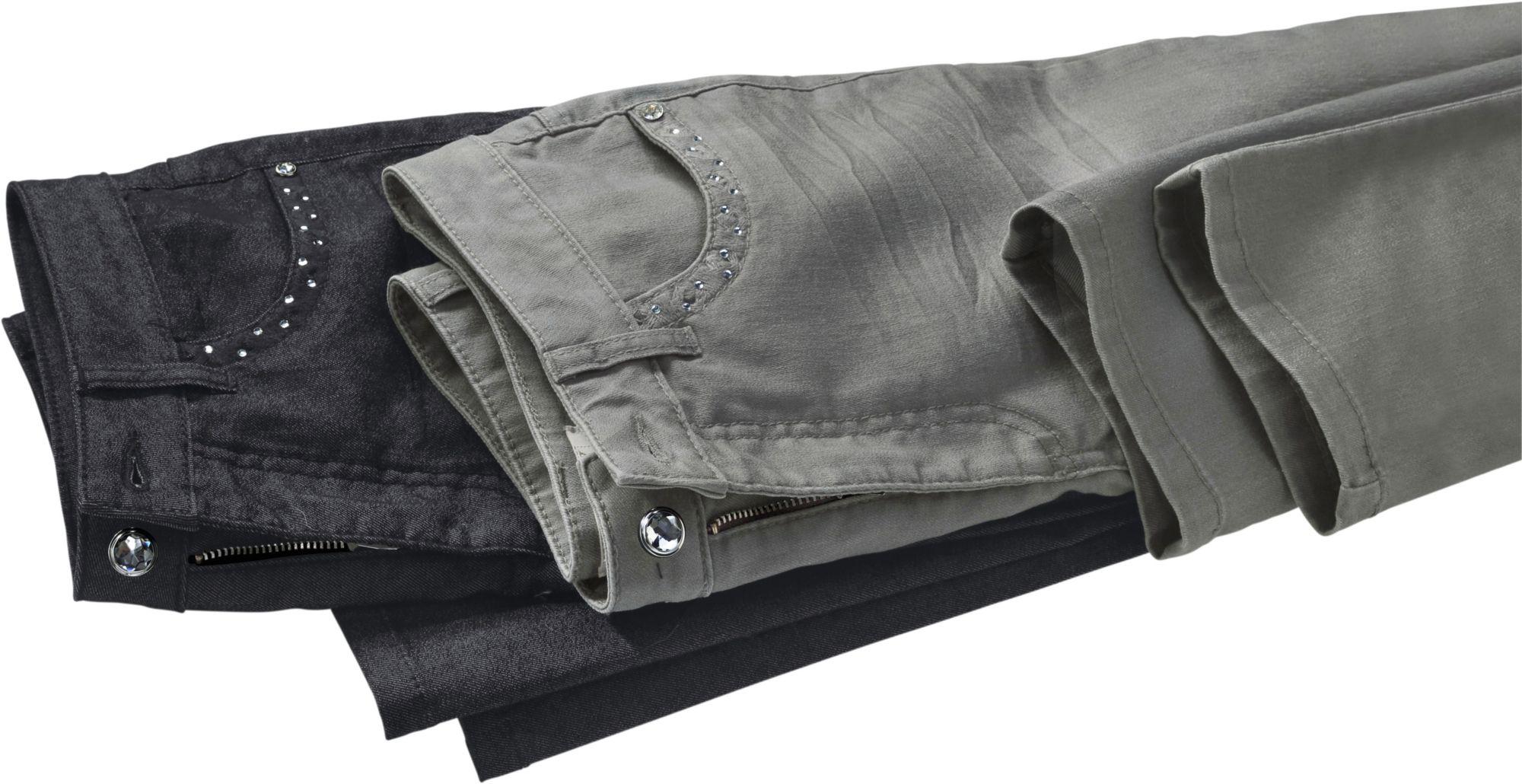 ALESSA W Alessa W. Jeans mit funkelnden Details