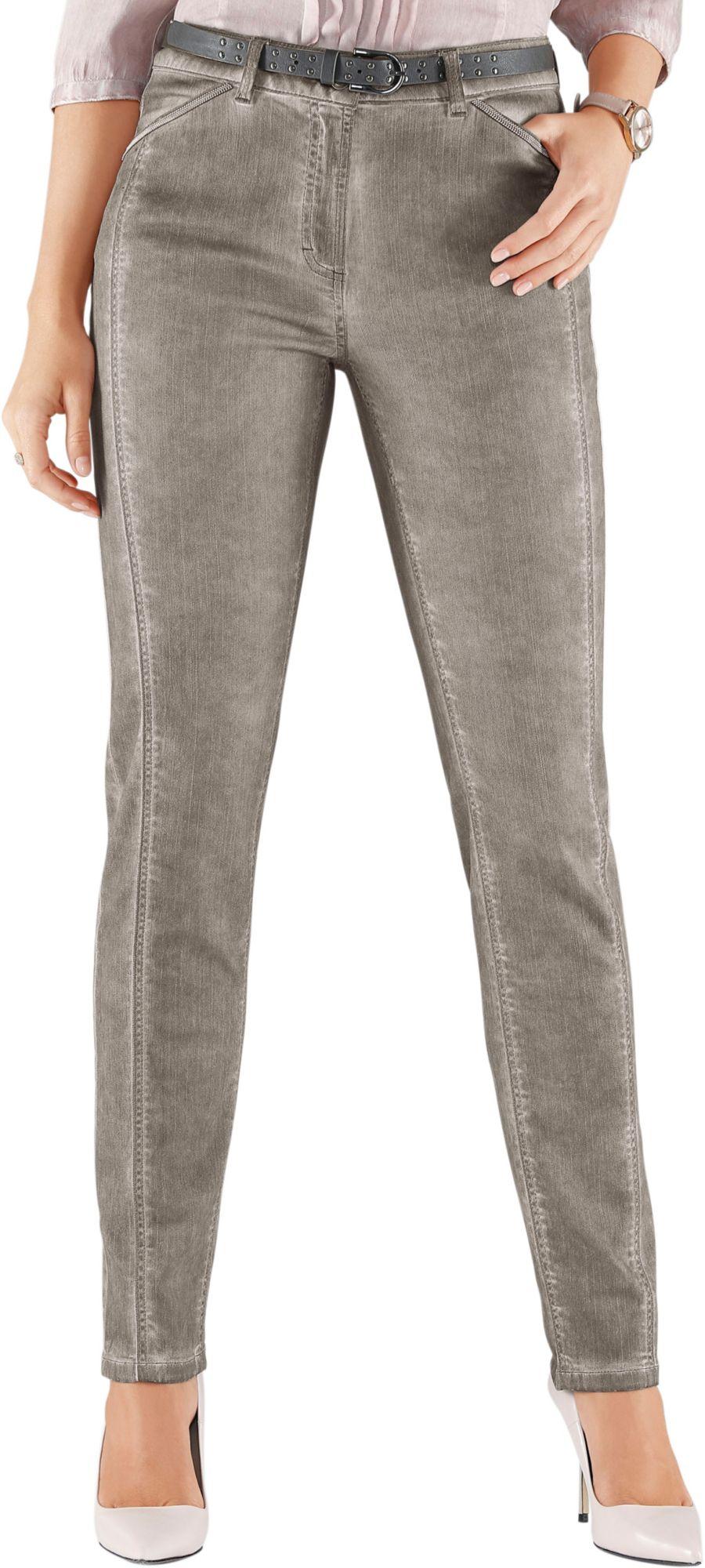 ALESSA W Alessa W. Jeans in angesagter »oil-dyed«-Optik