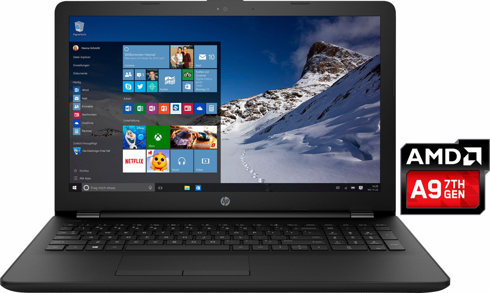 HP 15-bw009ng, Notebook
