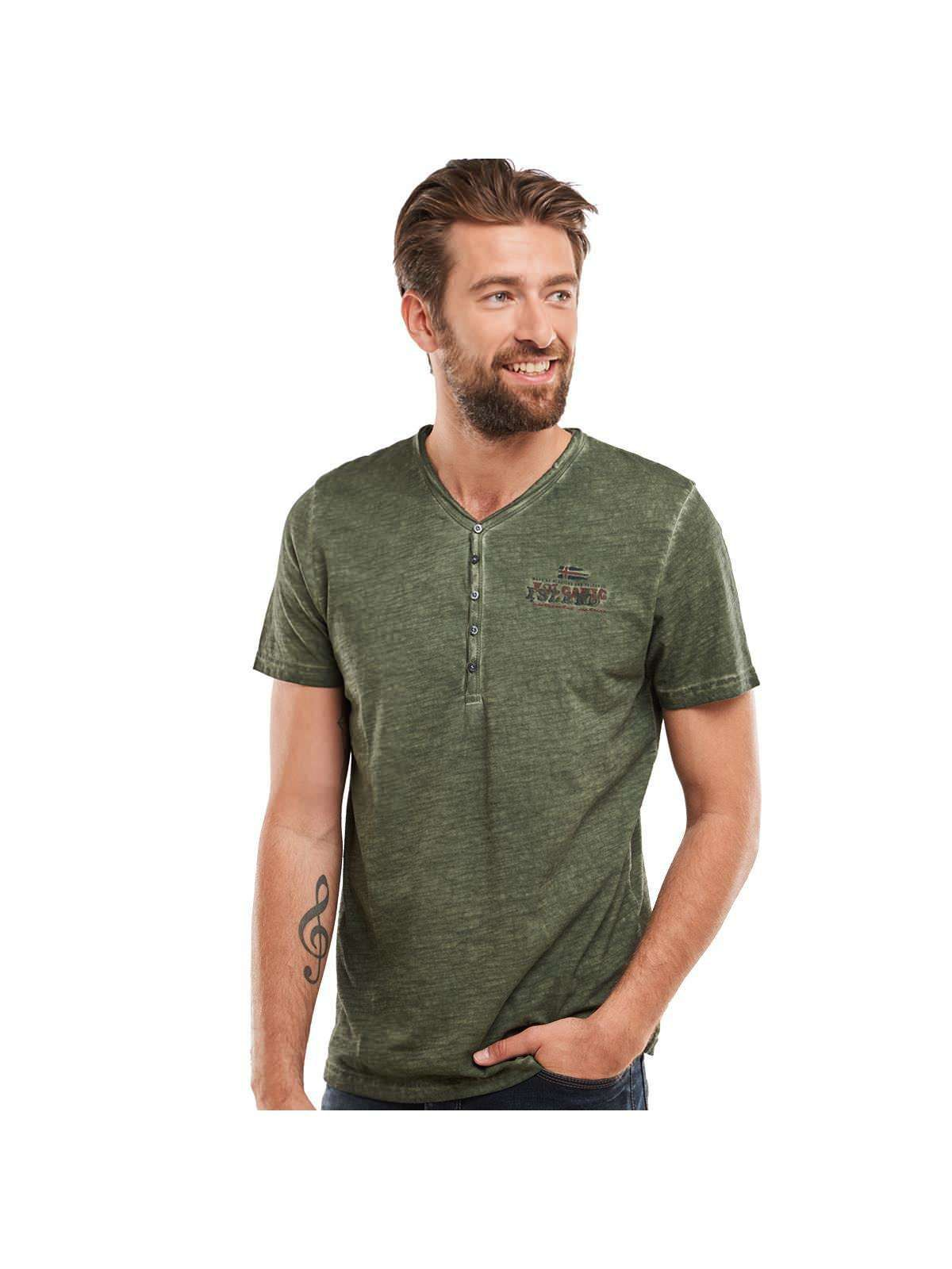 ENGBERS engbers Henley T-Shirt