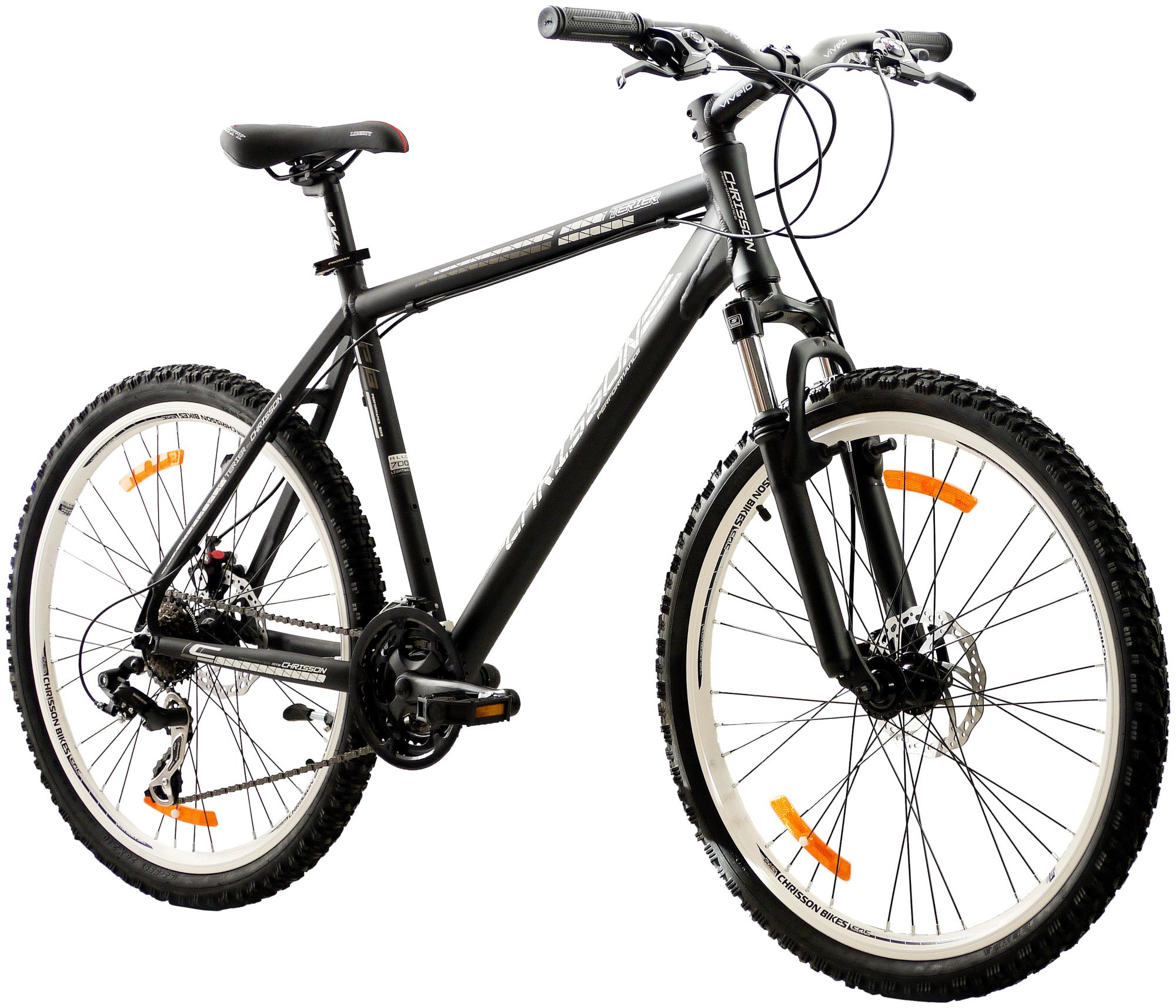 CHRISSON  Mountainbike »TERIER«, 26 Zoll, 21 Gang, Scheibenbremsen