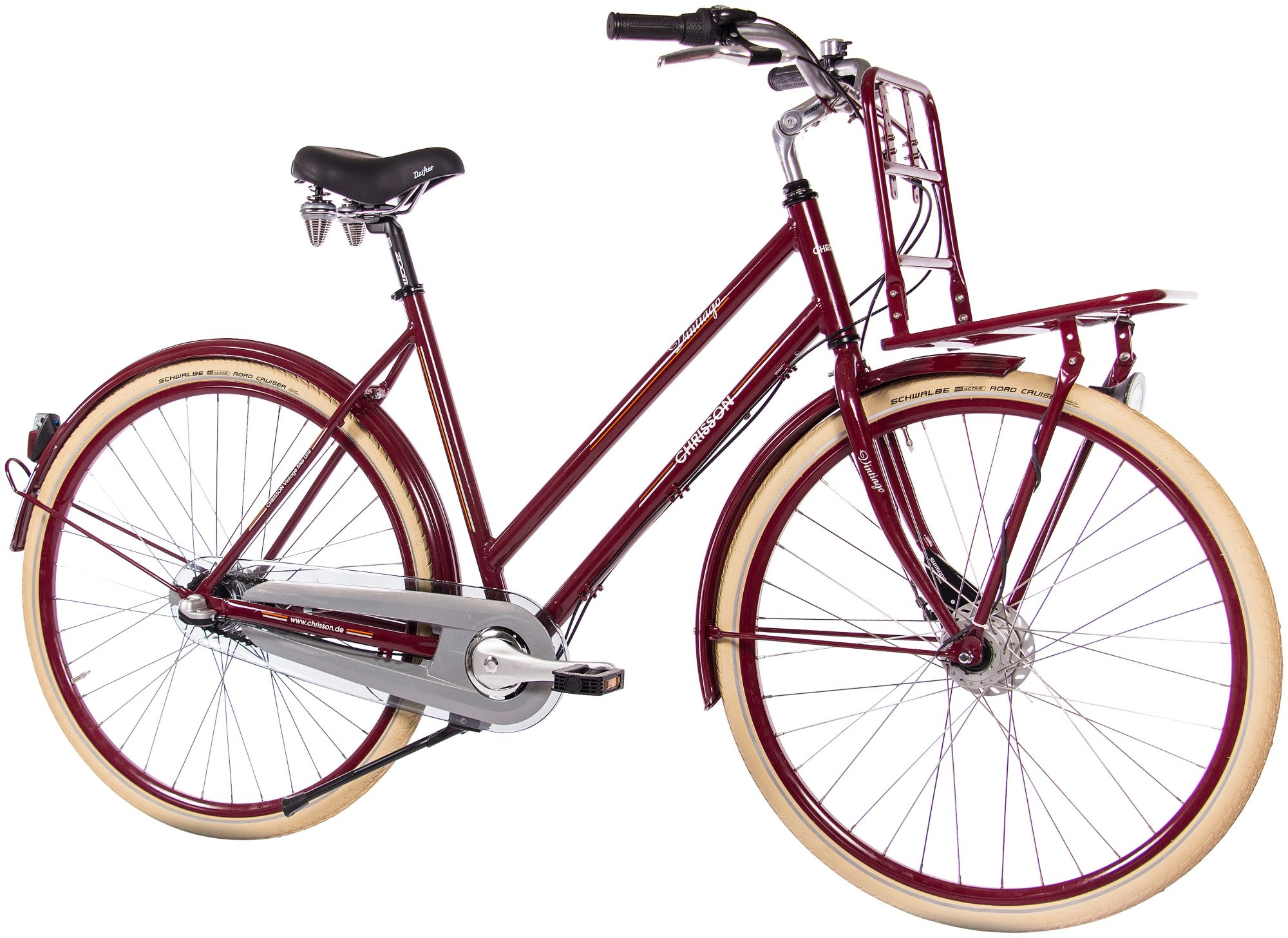 CHRISSON  Citybike Damen »VINTIAGO Lady«, 28 Zoll, 3 Gang