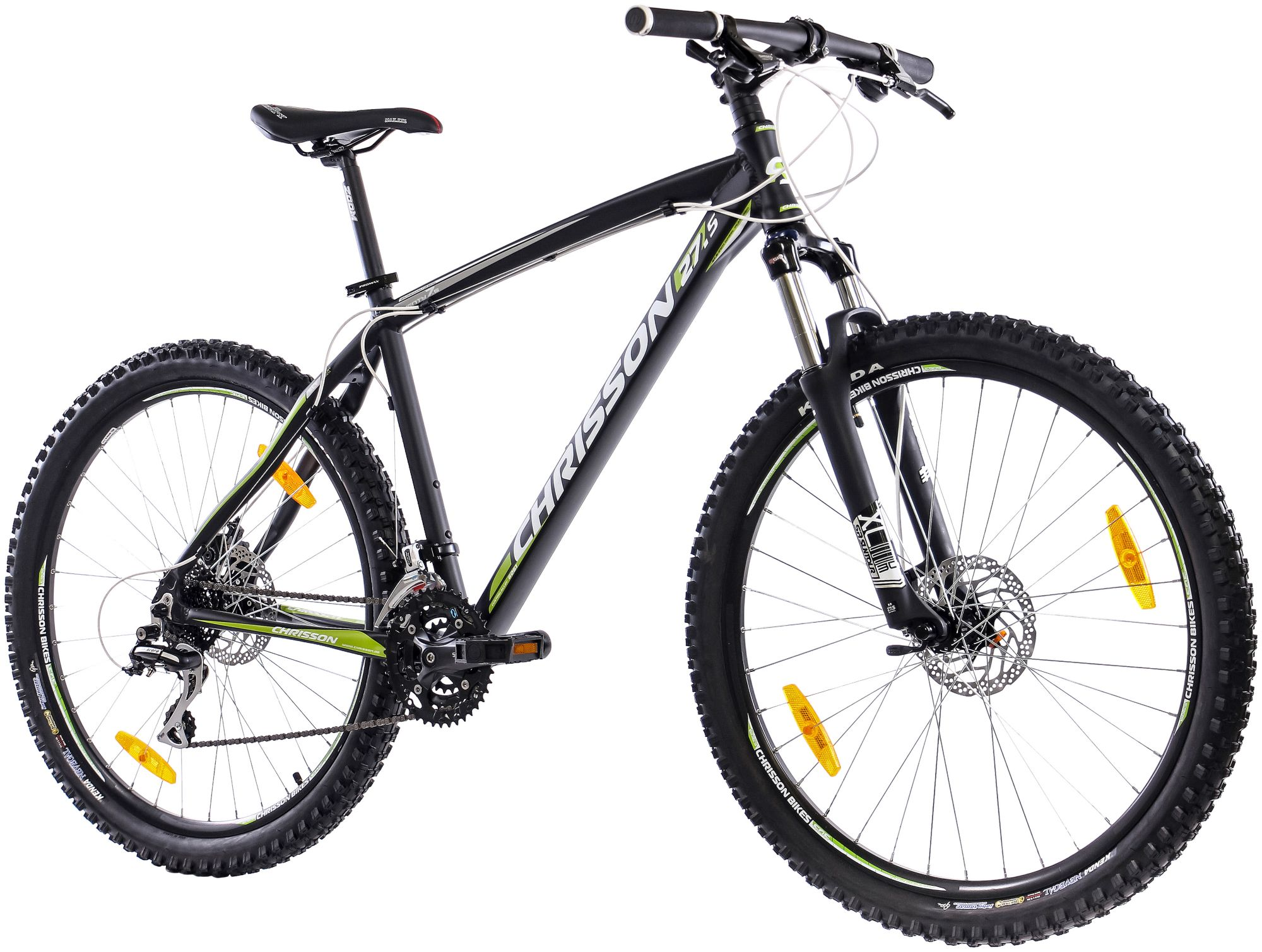 CHRISSON  Mountainbike »Alloy«, 27,5 Zoll, 24 Gang, Scheibenbremsen