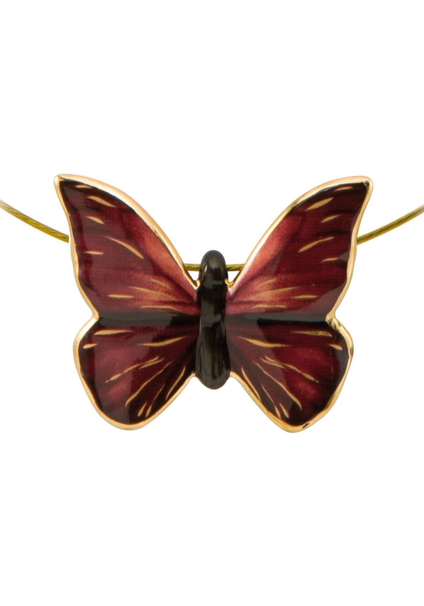 GOEBEL Goebel Kette mit Anhänger »Butterfly Red, Schmetterling, 26150461«