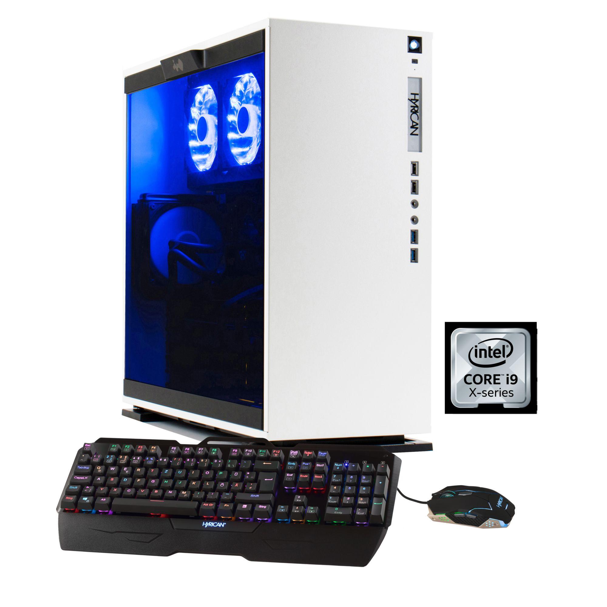 HYRICAN Hyrican Aorus PC Intel® i9-7900X, 32GB, SSD + HDD, GeForce® GTX 1080 Ti »5611 Wasserkühlung«