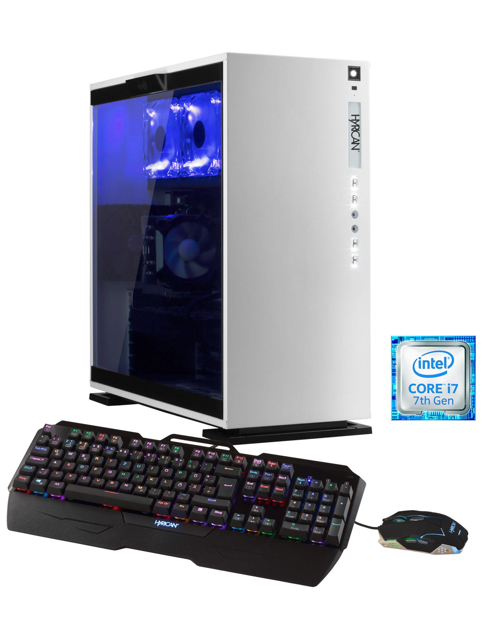 HYRICAN Hyrican Aorus PC Intel® i7-7800X, 32GB, SSD + HDD, GeForce® GTX 1080 »5613 Wasserkühlung«