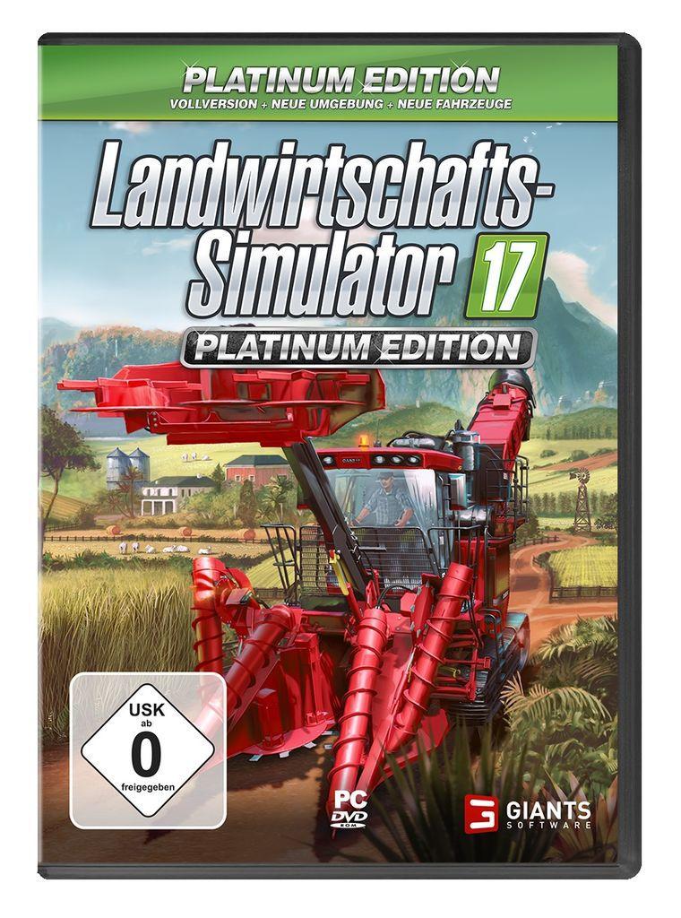 ASTRAGON Astragon PC - Spiel »Landwirtschafts-Simulator 17: Platinum Edition«