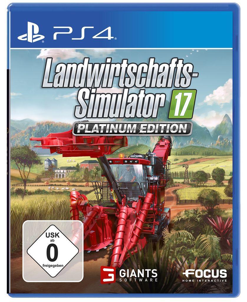 ASTRAGON Astragon Playstation 4 - Spiel »Landwirtschafts-Simulator 17: Platinum Edition«