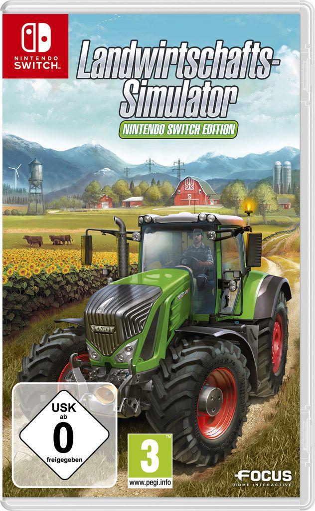 ASTRAGON Astragon Nintendo Switch - Spiel »Landwirtschafts-Simulator: Nintendo Switch Edition«
