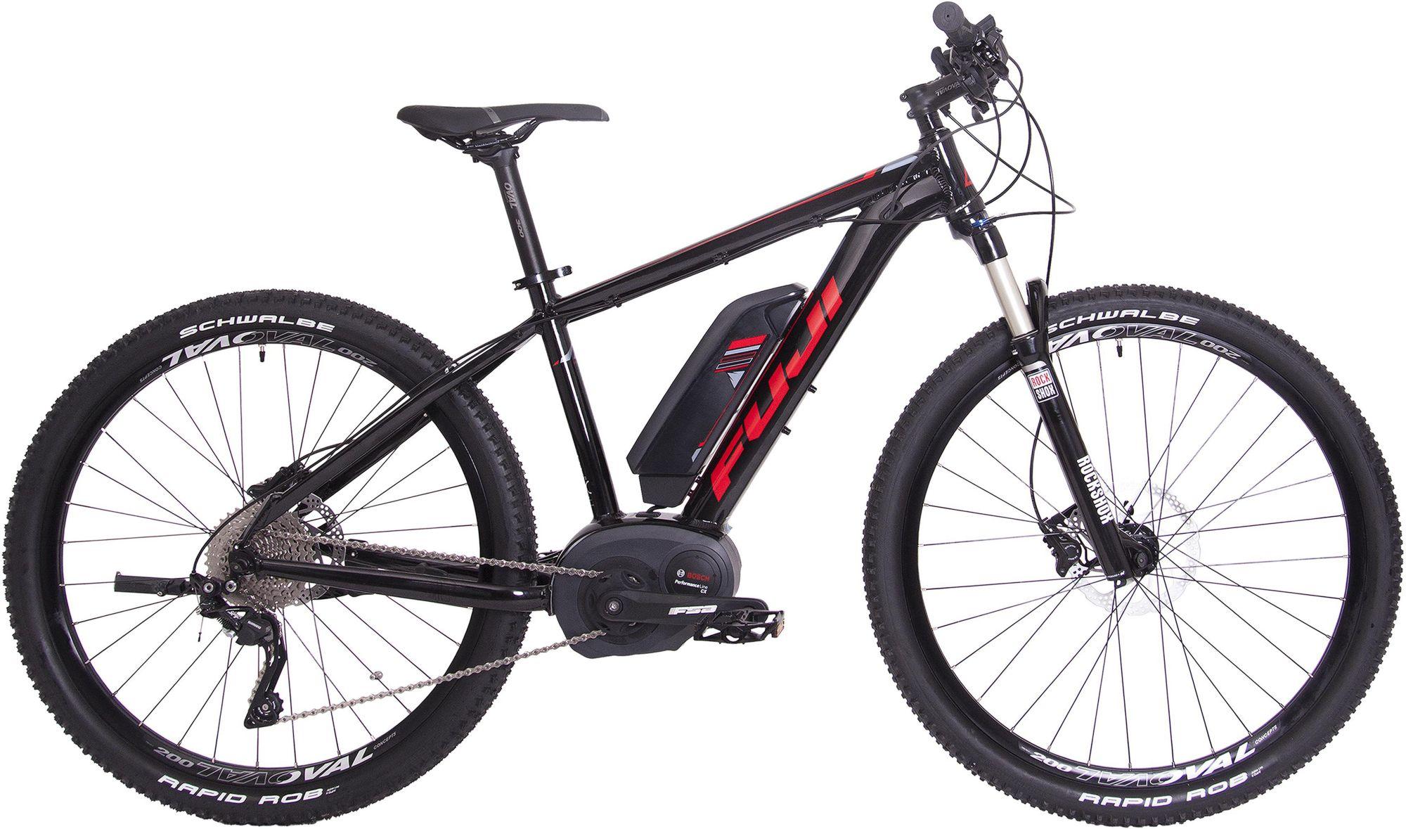 FUJI Fuji Herren MTB E-Bike Mittelmotor 36V/250W, 27,5 Zoll, 10 Gang Shimano Deore XT, »AMBIENT 1.3«