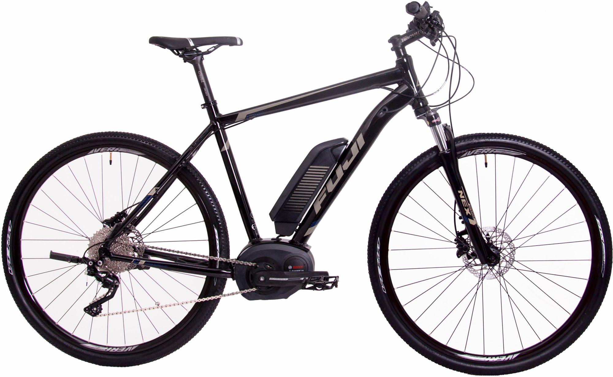 FUJI Fuji Herren Trekking E-Bike Mittelmotor 36V/250W, 28 Zoll, 10 Gang Shimano Deore XT, »E-Traverse«