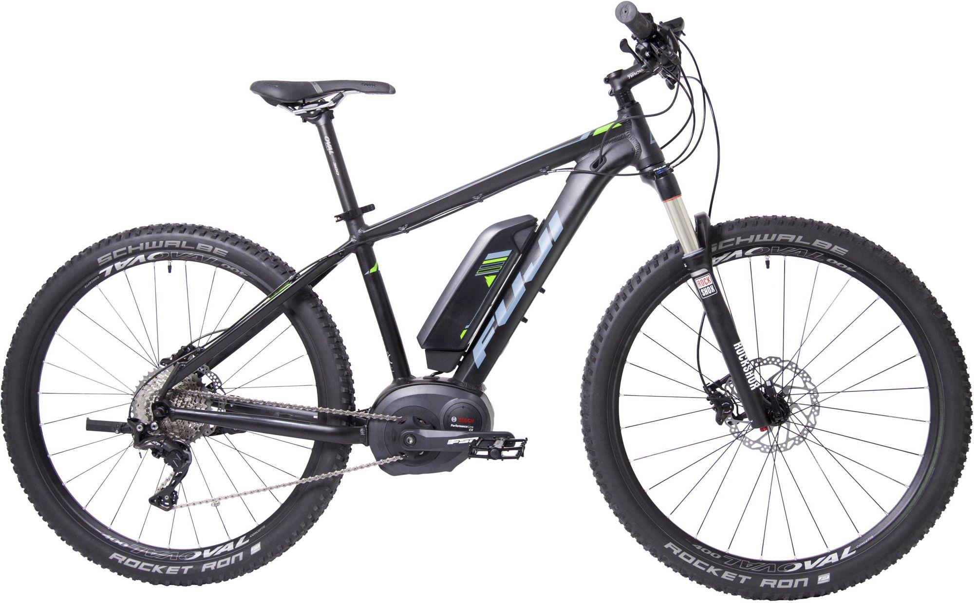 FUJI Fuji Herren MTB E-Bike Mittelmotor 36V/250W, 27,5 Zoll, 11 Gang Shimano Deore XT, »AMBIENT 1.1«