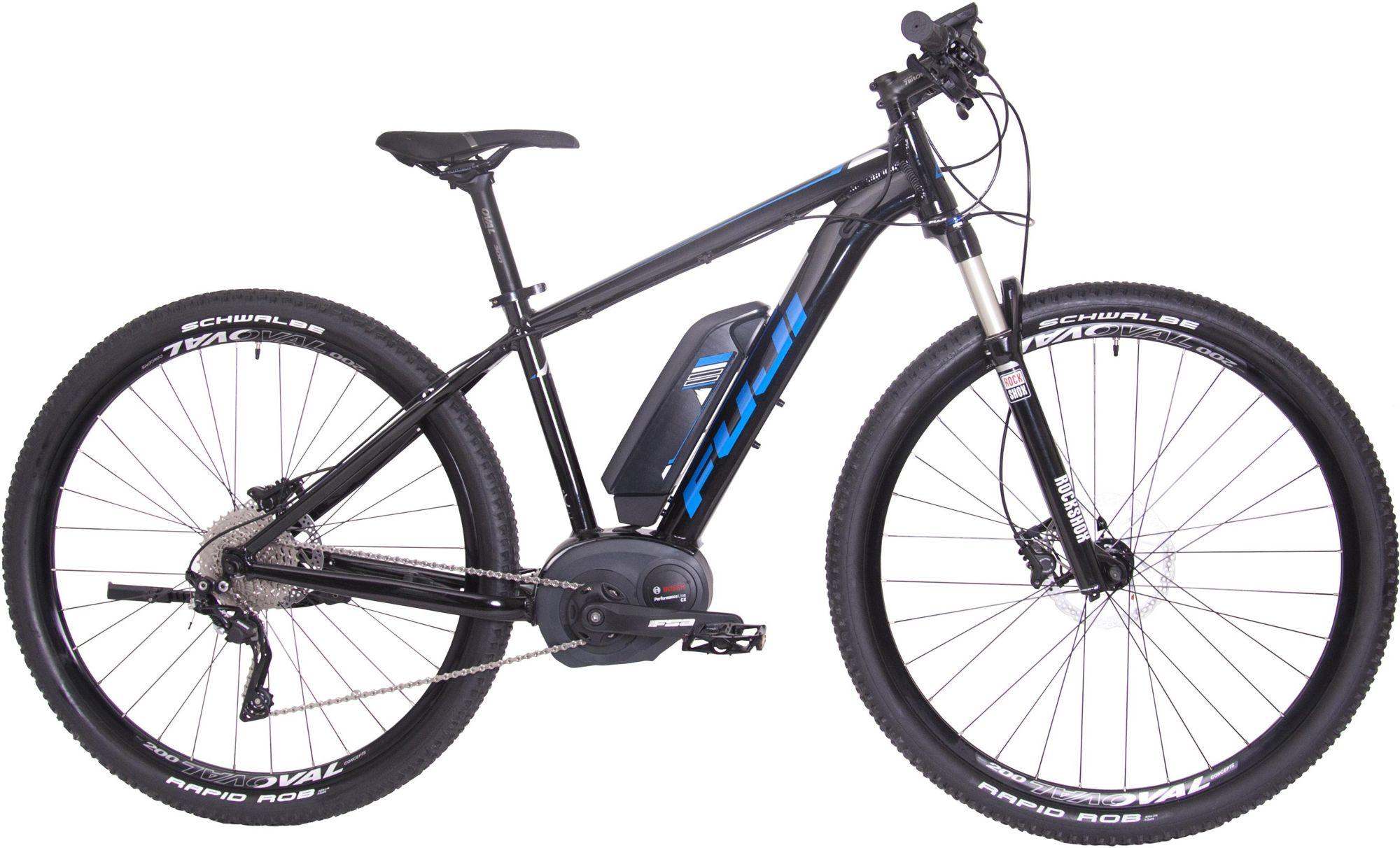 FUJI Fuji Herren MTB E-Bike Mittelmotor 36V/250W, 29 Zoll, 10 Gang Shimano Deore XT, »AMBIENT 1.3«