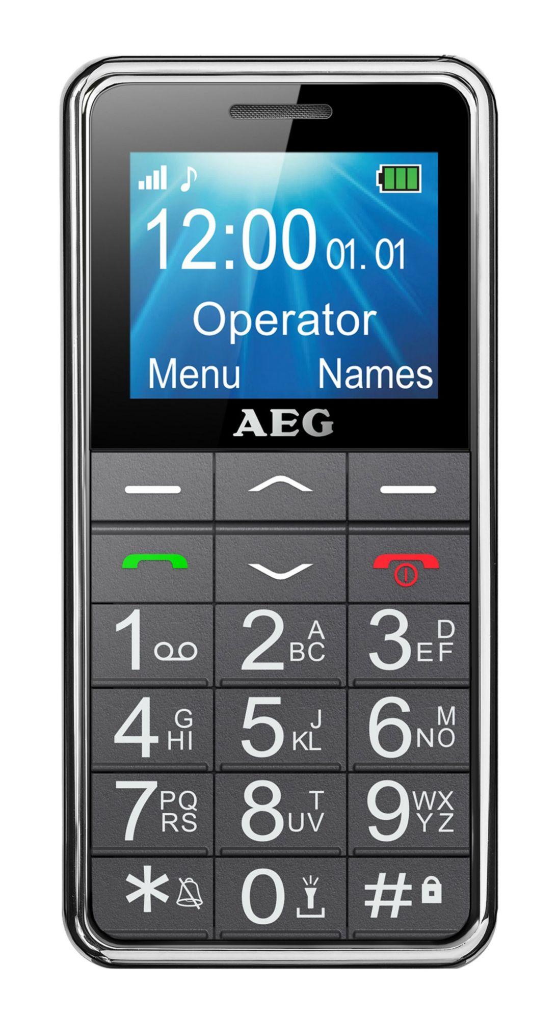 AEG  Senioren Handy mit Notruffunktion »SM250«