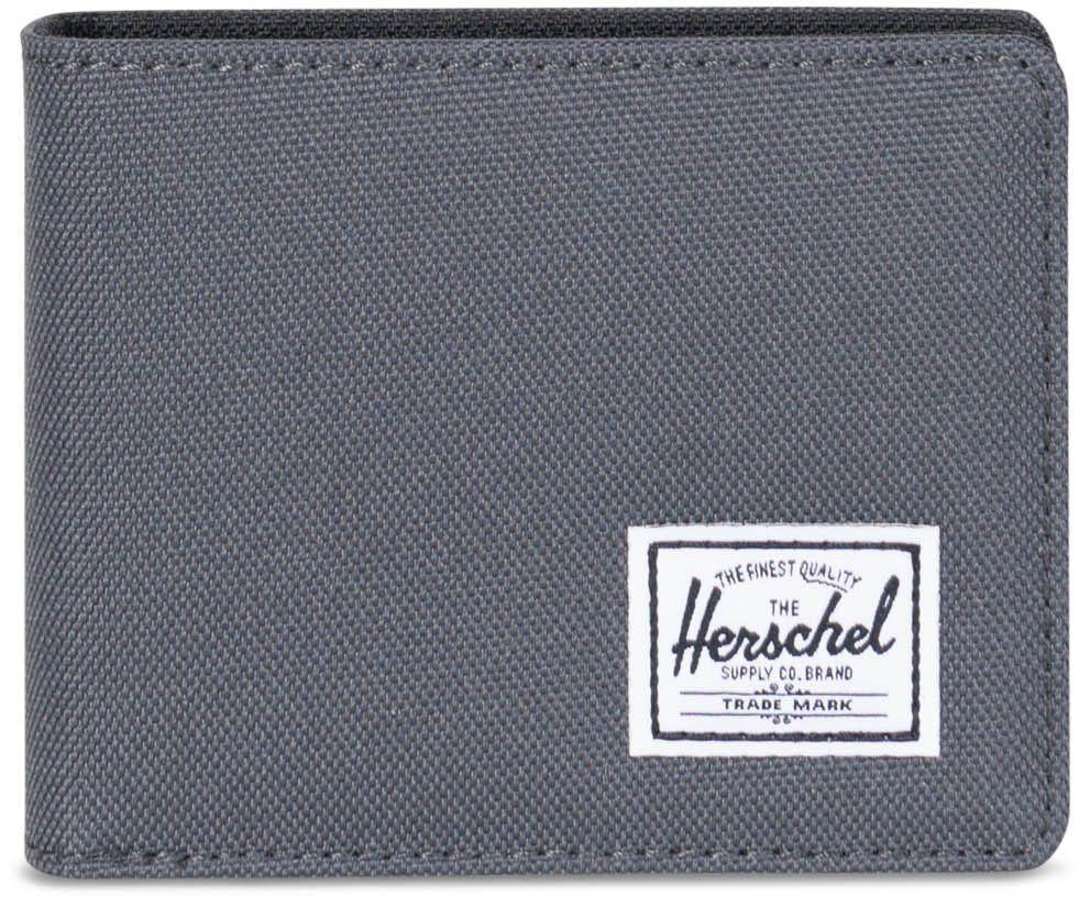 HERSCHEL Herschel Geldbörse, »Roy Coin, Dark Shadow/Black«, grau