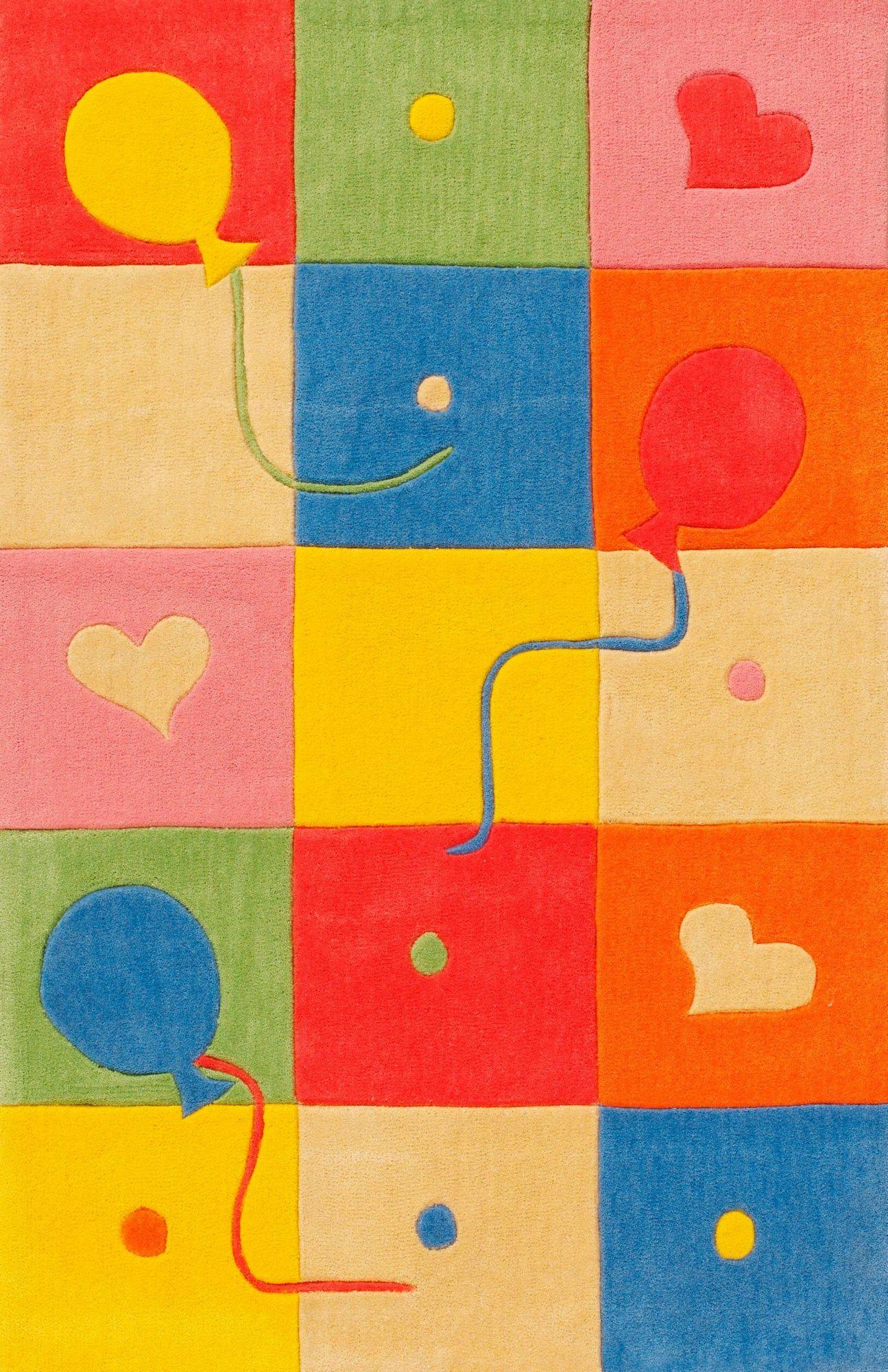 BÖING CARPET Kinder-Teppich, Böing Carpet, »Kids 1361«, Höhe 11 mm, handgetuftet