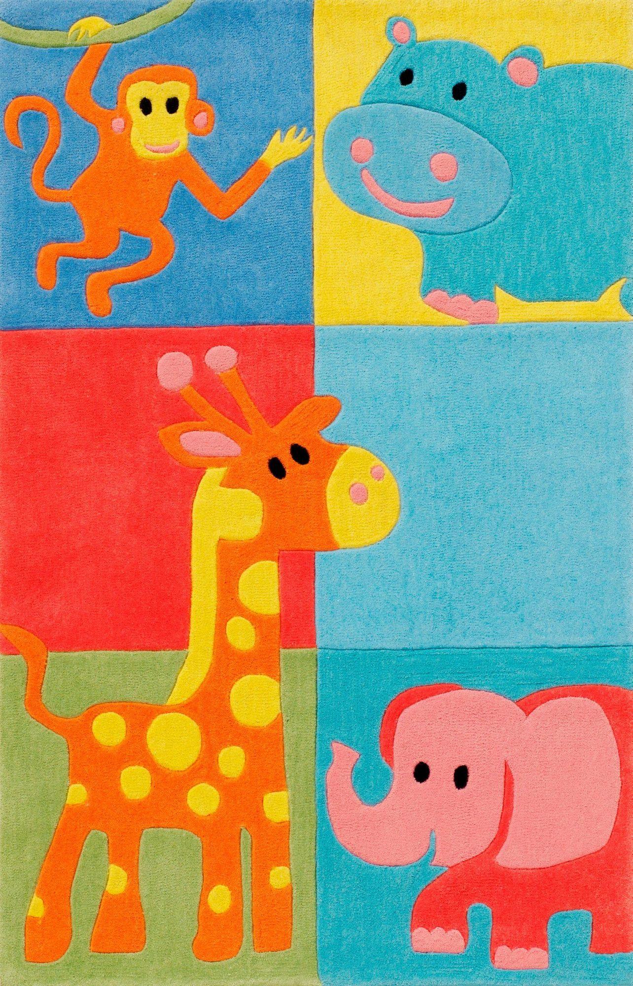 BÖING CARPET Kinder-Teppich, Böing Carpet, »Kids 1365«, Höhe 11 mm, handgetuftet