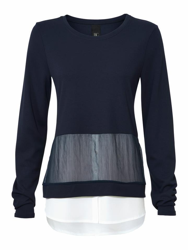 BC BEST CONNECTIONS by Heine 2-in-1-Shirt mit Rundhalsausschnitt