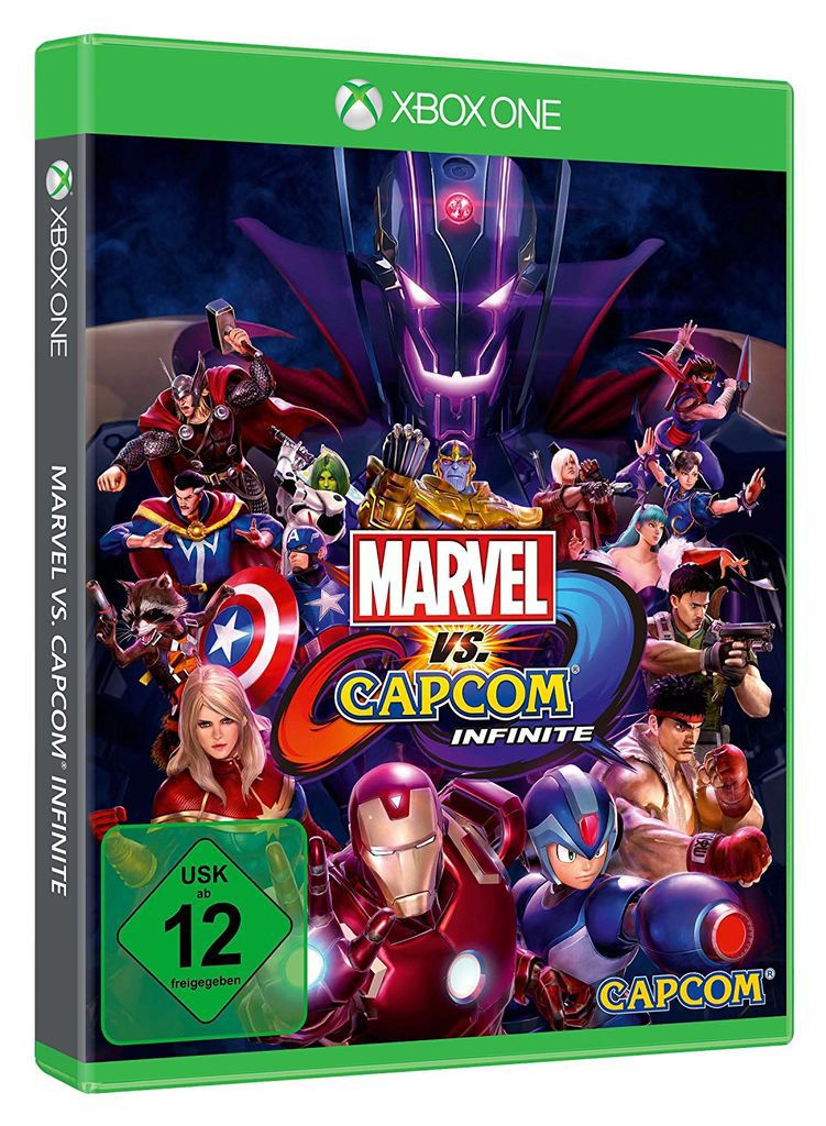 CAPCOM Capcom XBOX One - Spiel »Marvel vs Capcom Infinite«